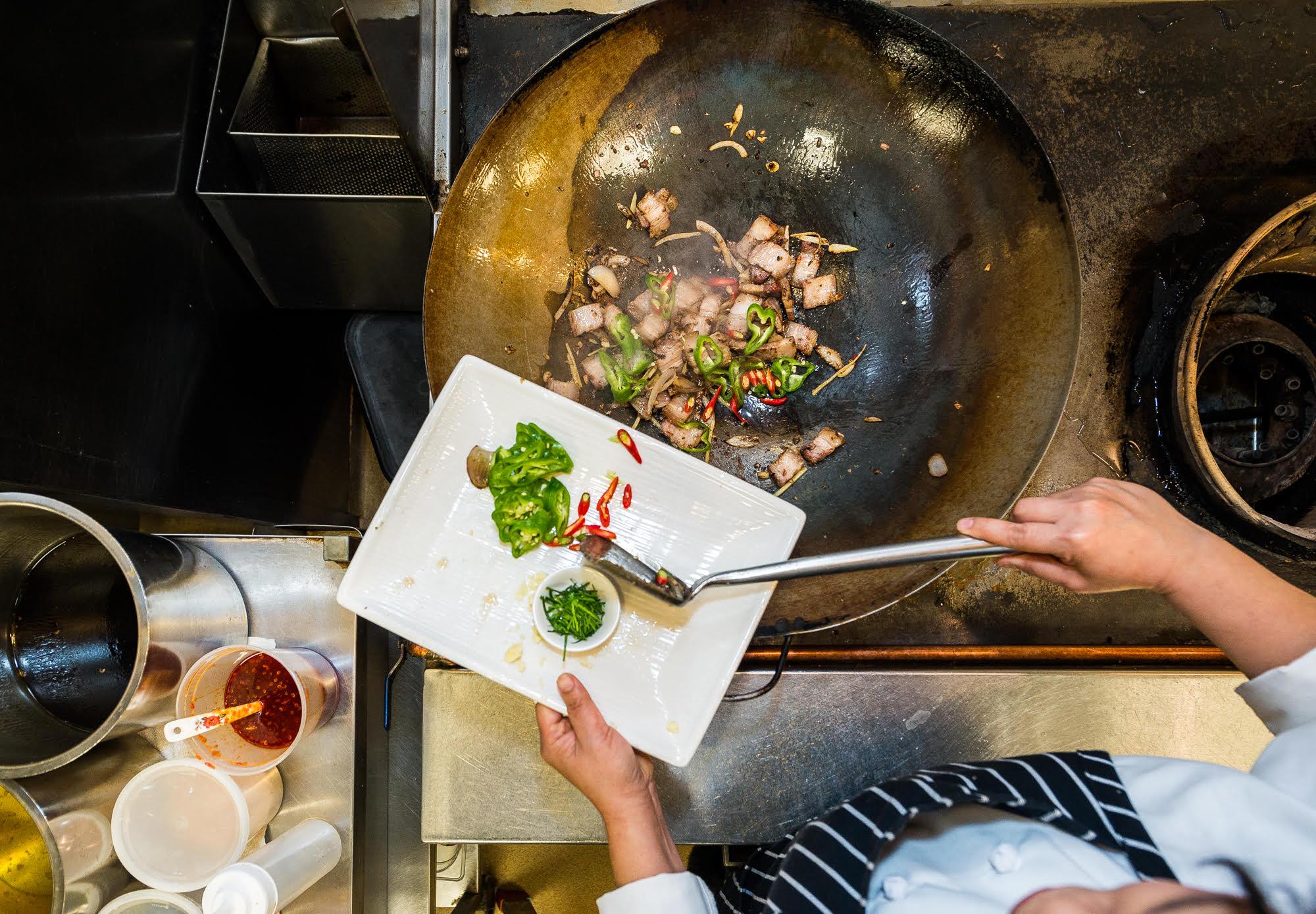 Chef Seng Luangrath makes Muu Som