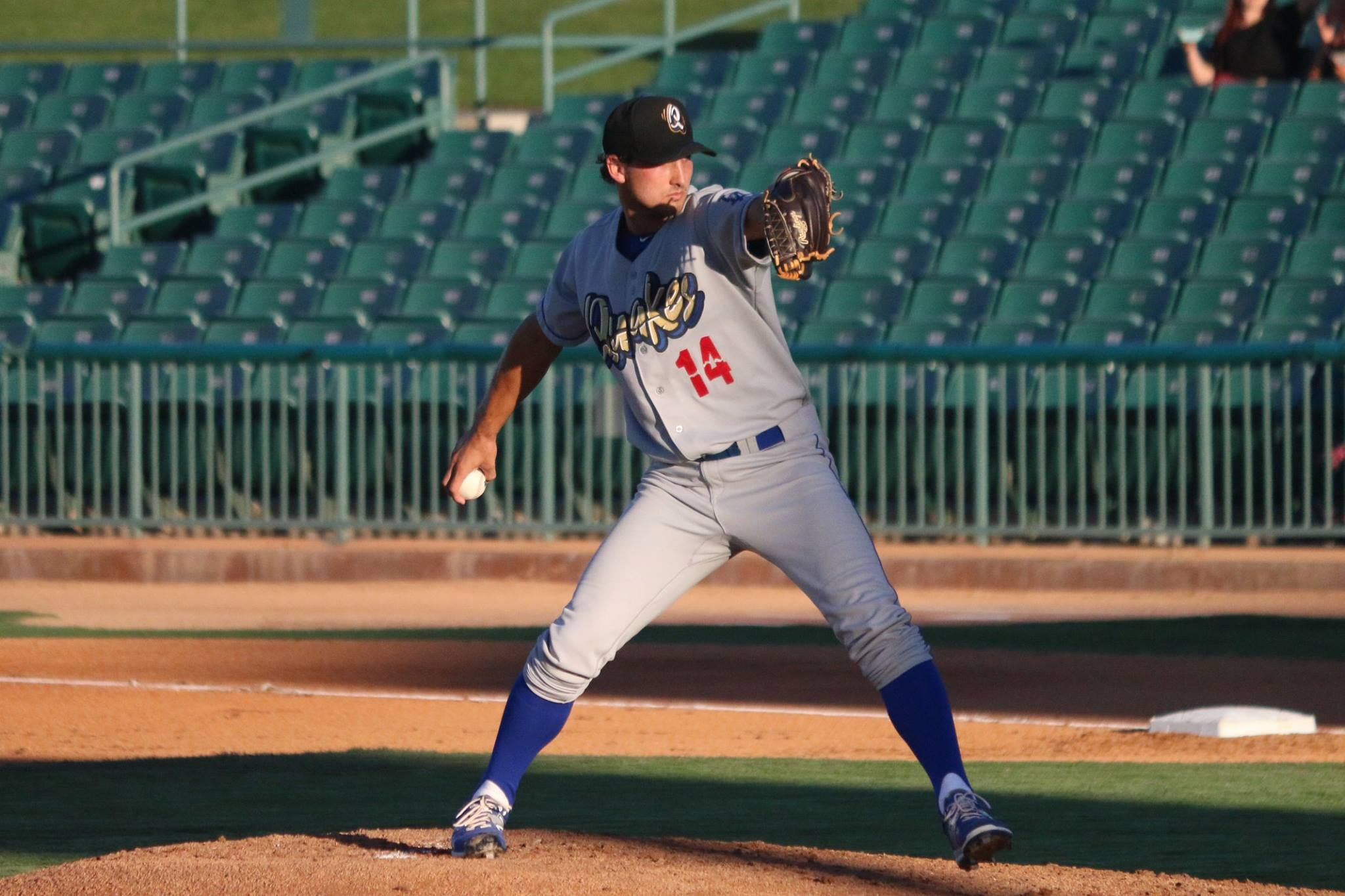 Chase De Jong was a Game 1 starter for the Rancho Cucamong Quakes in their run to the 2015 Cal League championship.