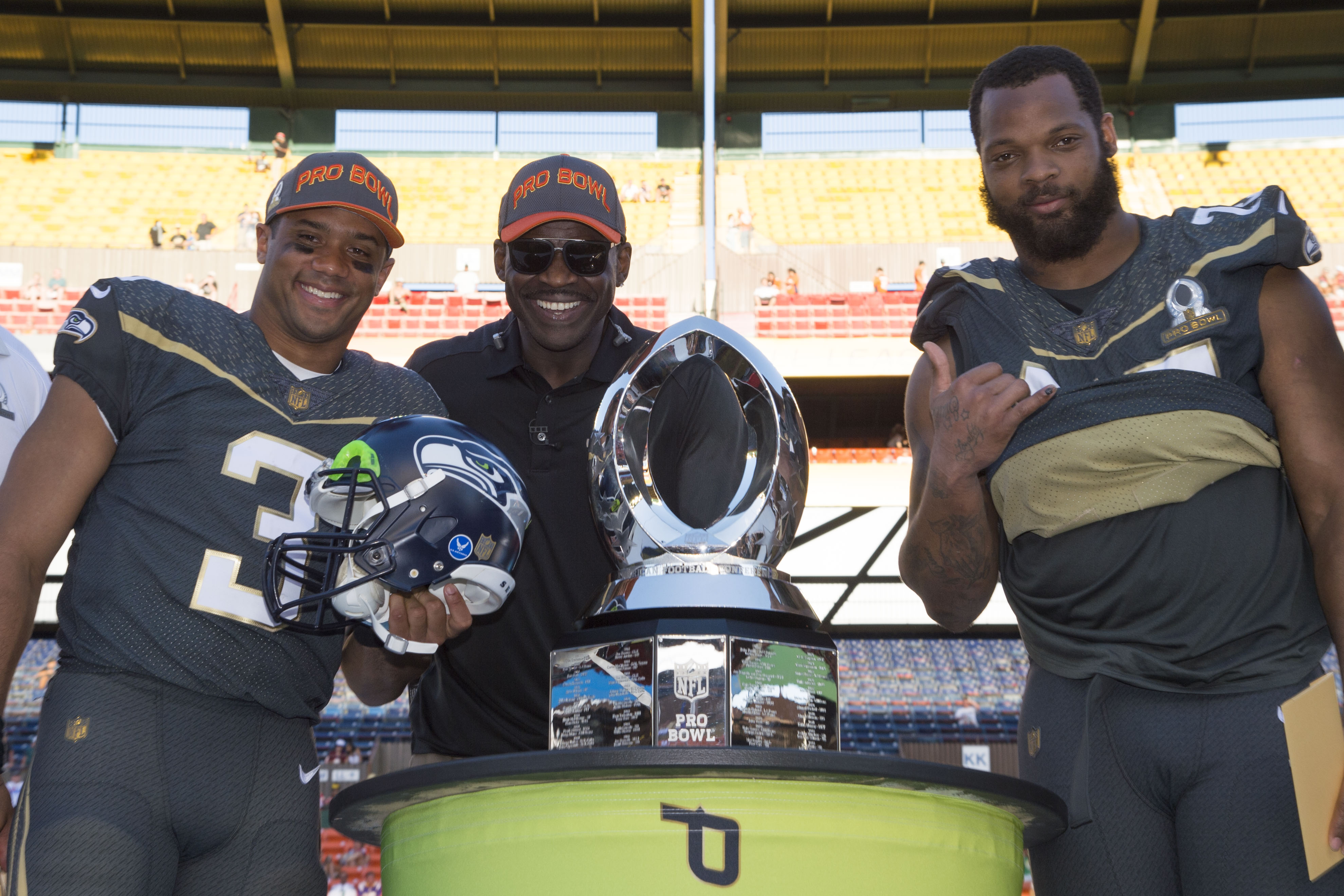 The Seahawks made the Pro Bowl fun for a change
