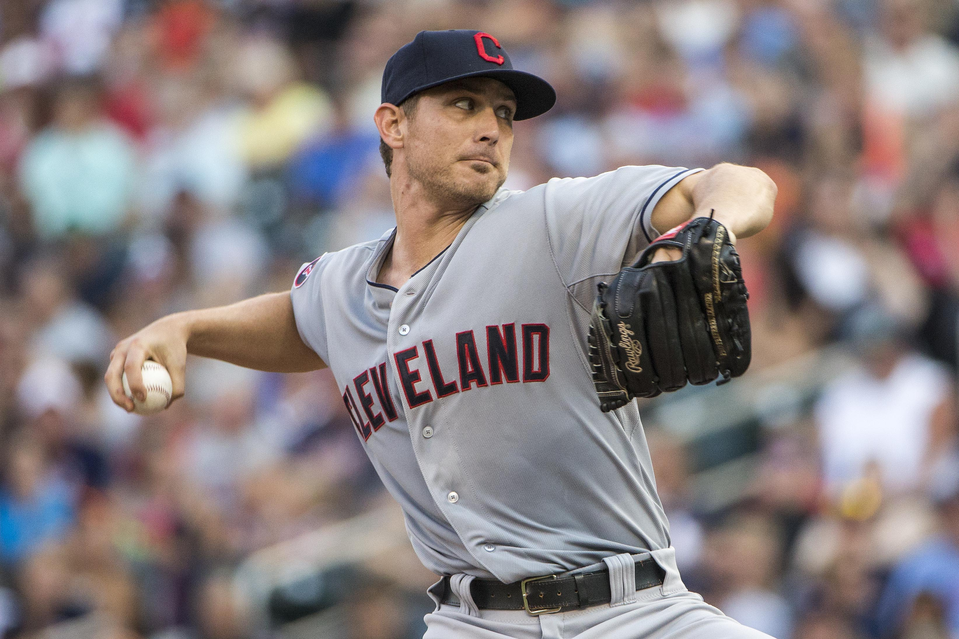 Josh Tomlin will be in an Indians uniform through at least 2017.