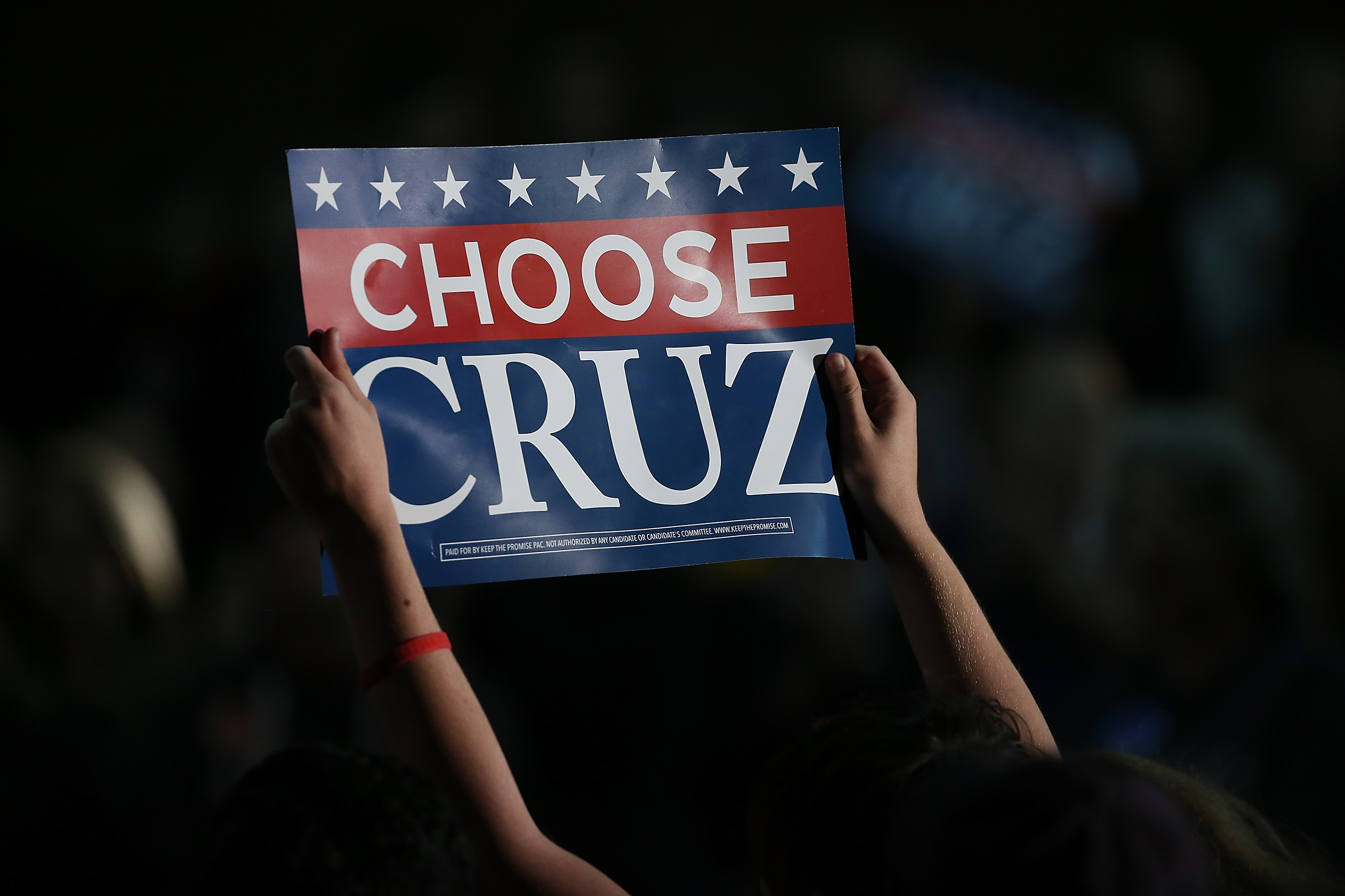 Cruz won on the backs of evangelical voters who turned out in large numbers.