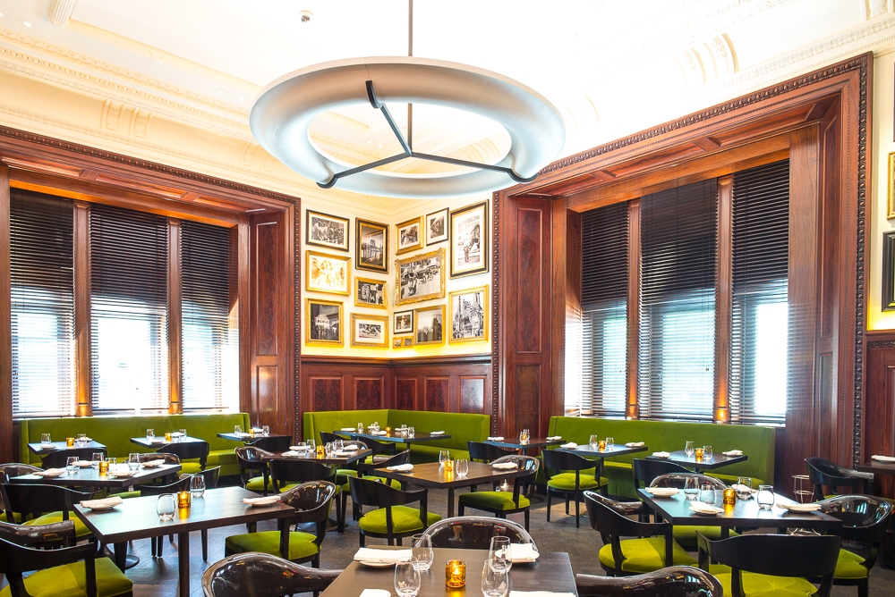 The dining room at The Clocktower