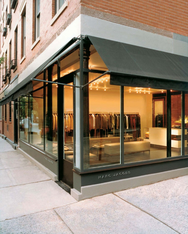 Marc Jacobs' men's store in better days