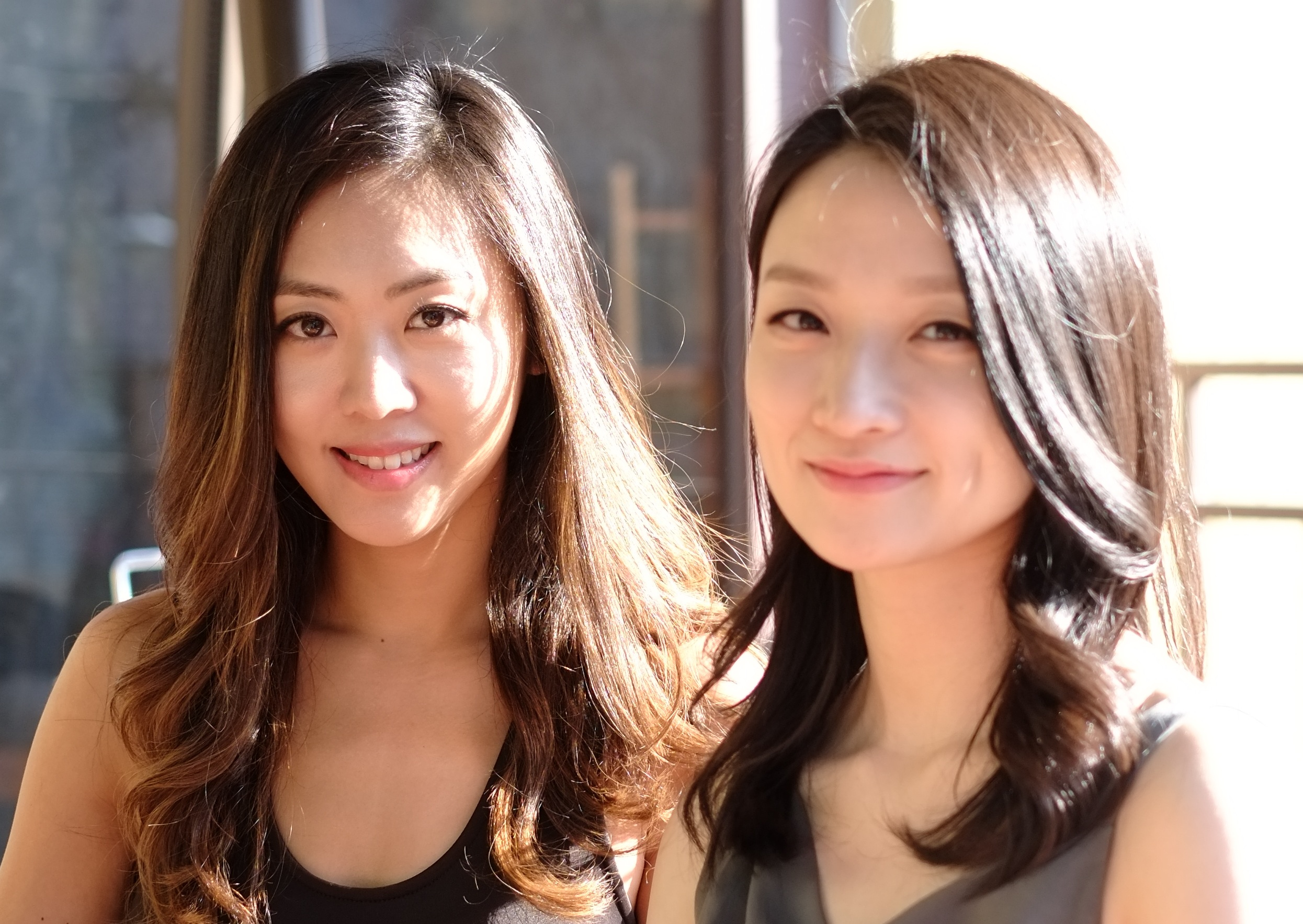 Pictured: Sarah Lee and Christine Chang.