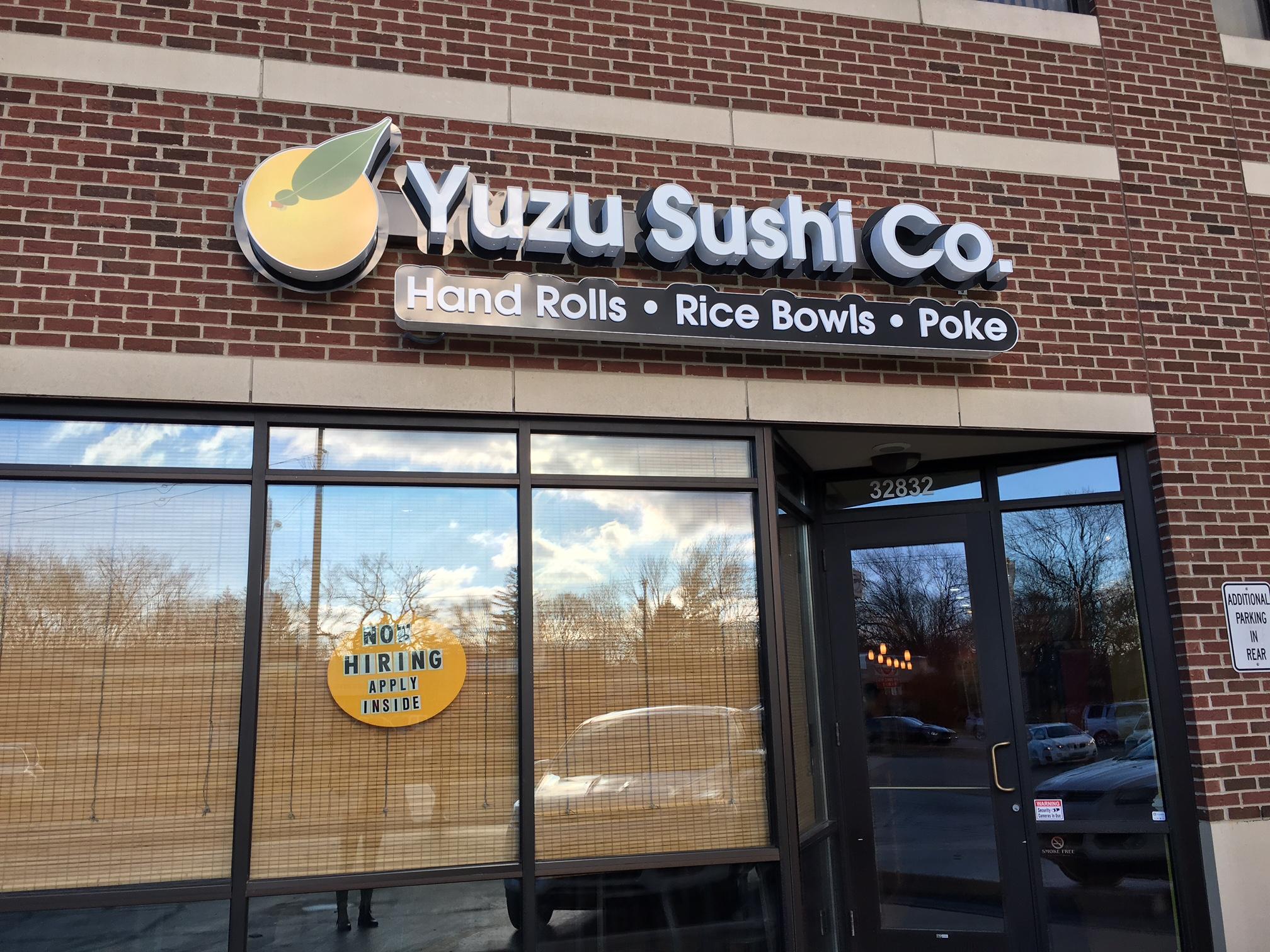 Yuzu Sushi Co.