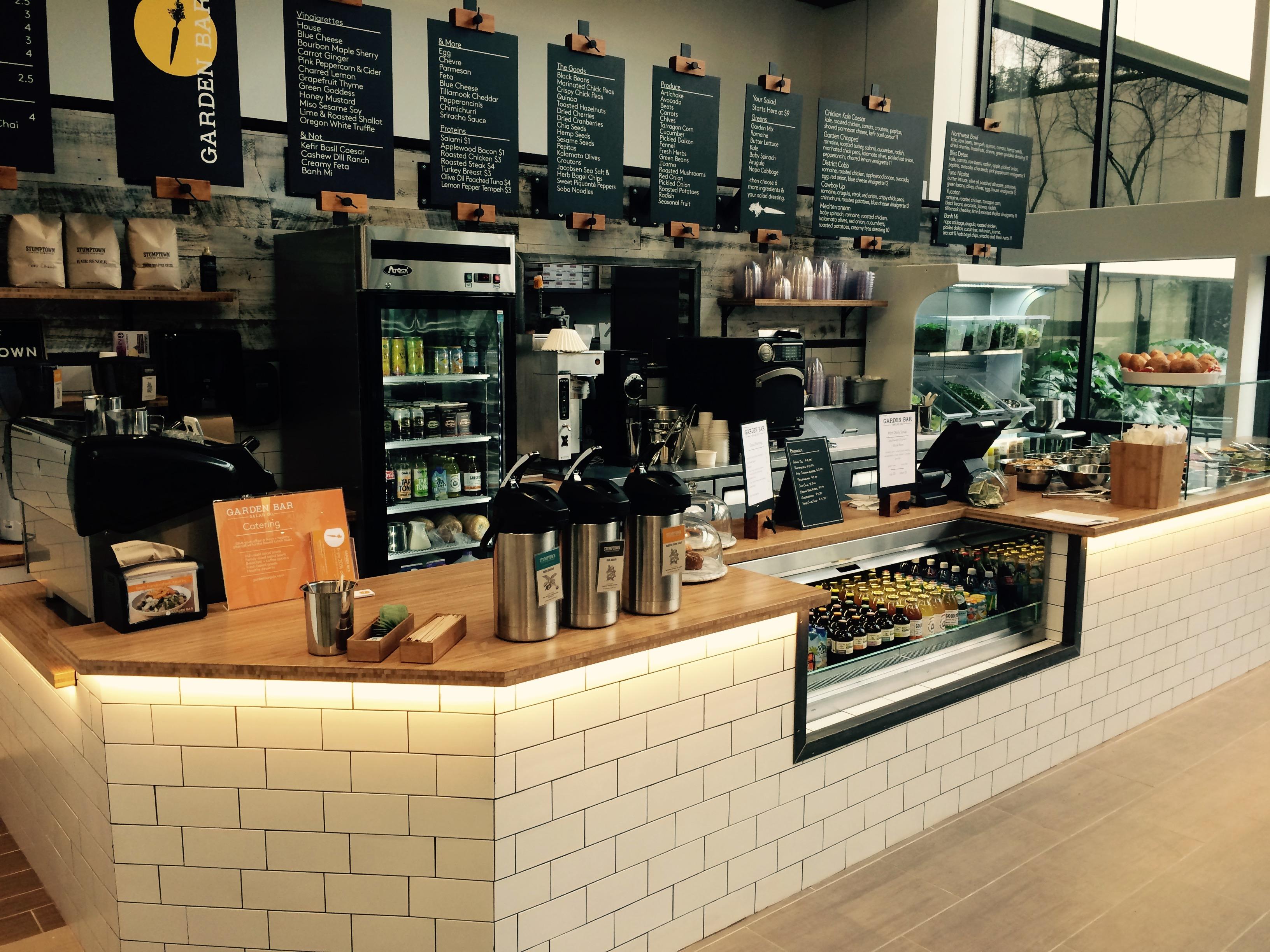 The new Garden Bar at 100 SW Market St.