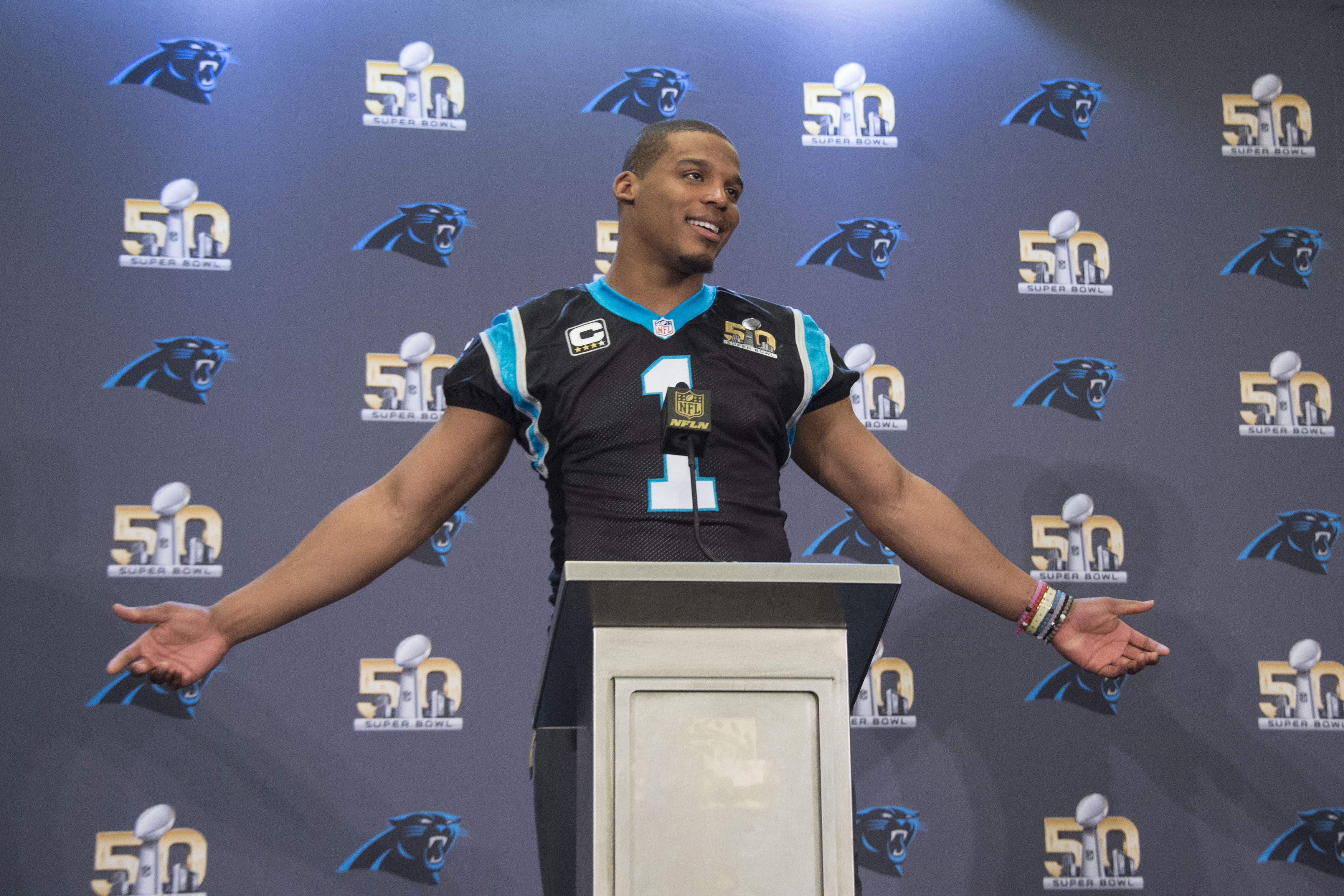Cam Newton thinks there's too much Super Bowl media coverage