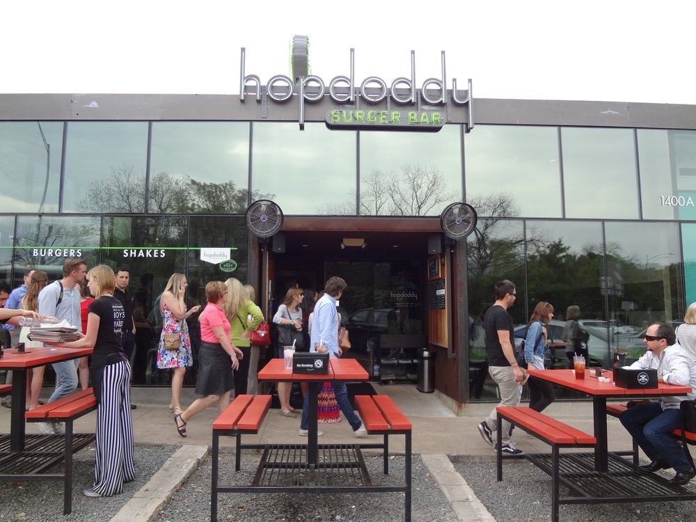 Hopdoddy on South Congress
