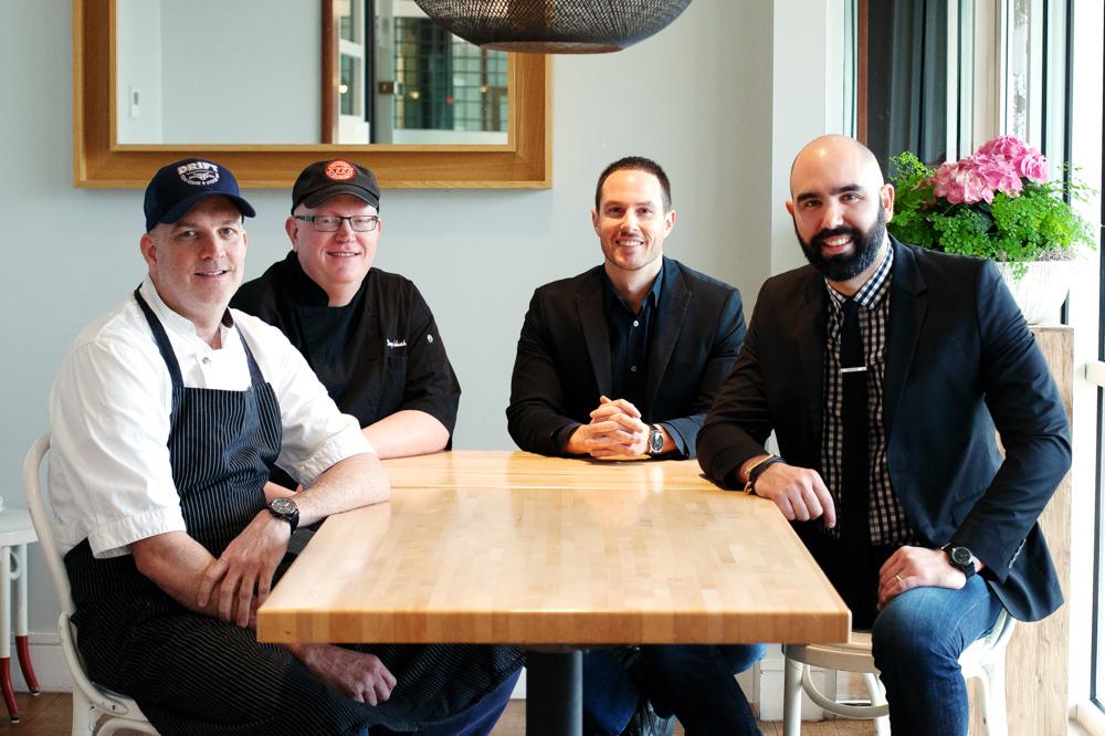 From left: Brendan Keenan, Doug Turbush, Jason Raymond, and Jose Pereiro.