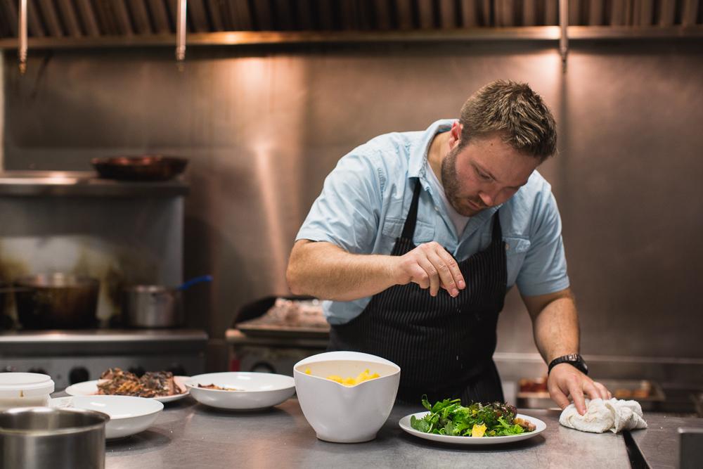 Chef Josh Stockton of Gold Cash Gold.