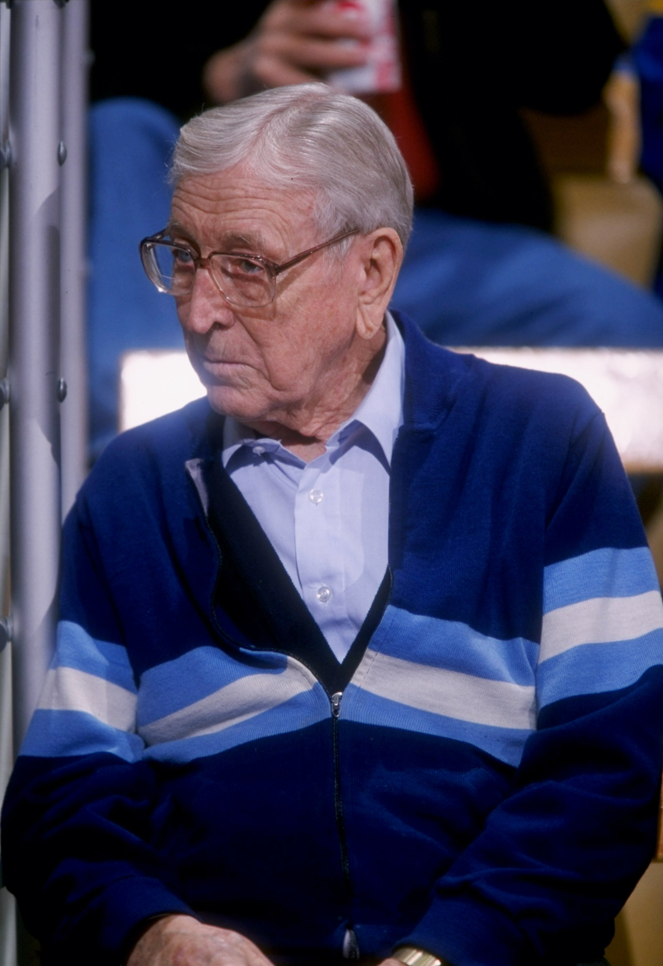 Are you going to let Lute Olson be voted the Pac-12 Men's Basketball Coach of the Century?