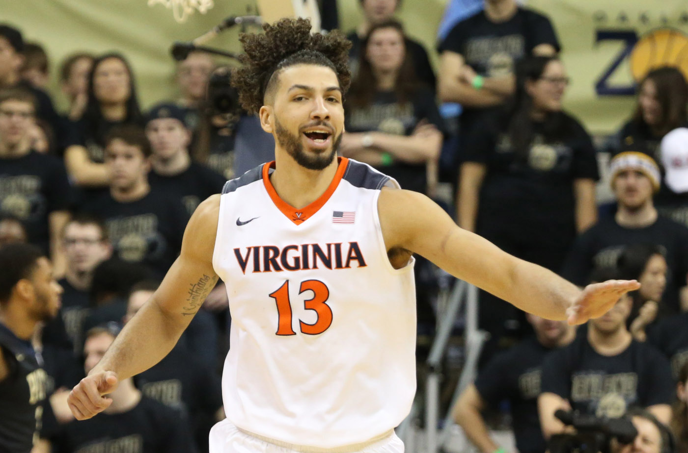 Anthony is excited about Virginia's good week in sports.