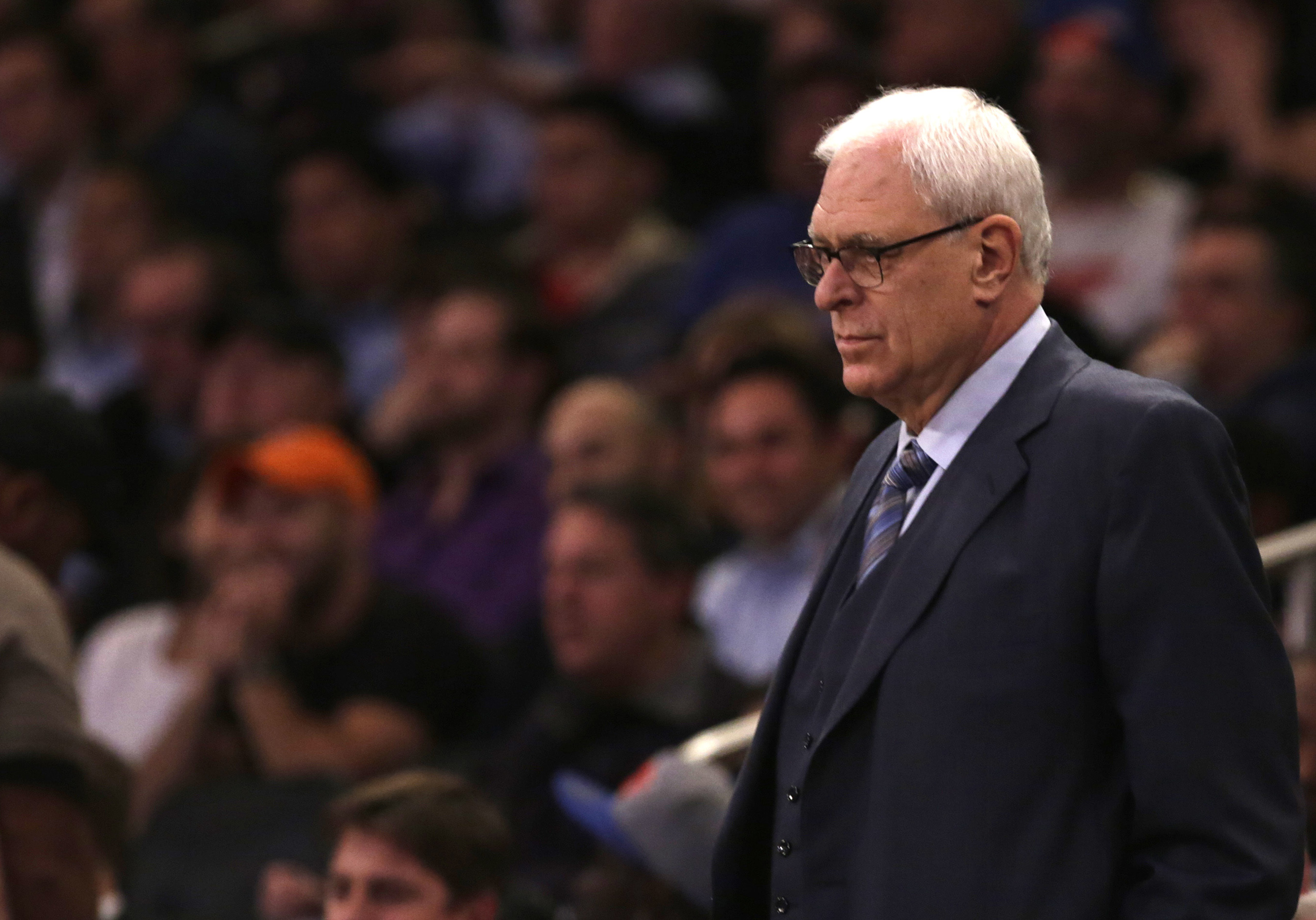 Derek Fisher was reportedly fired because he occasionally didn't run the triangle offense