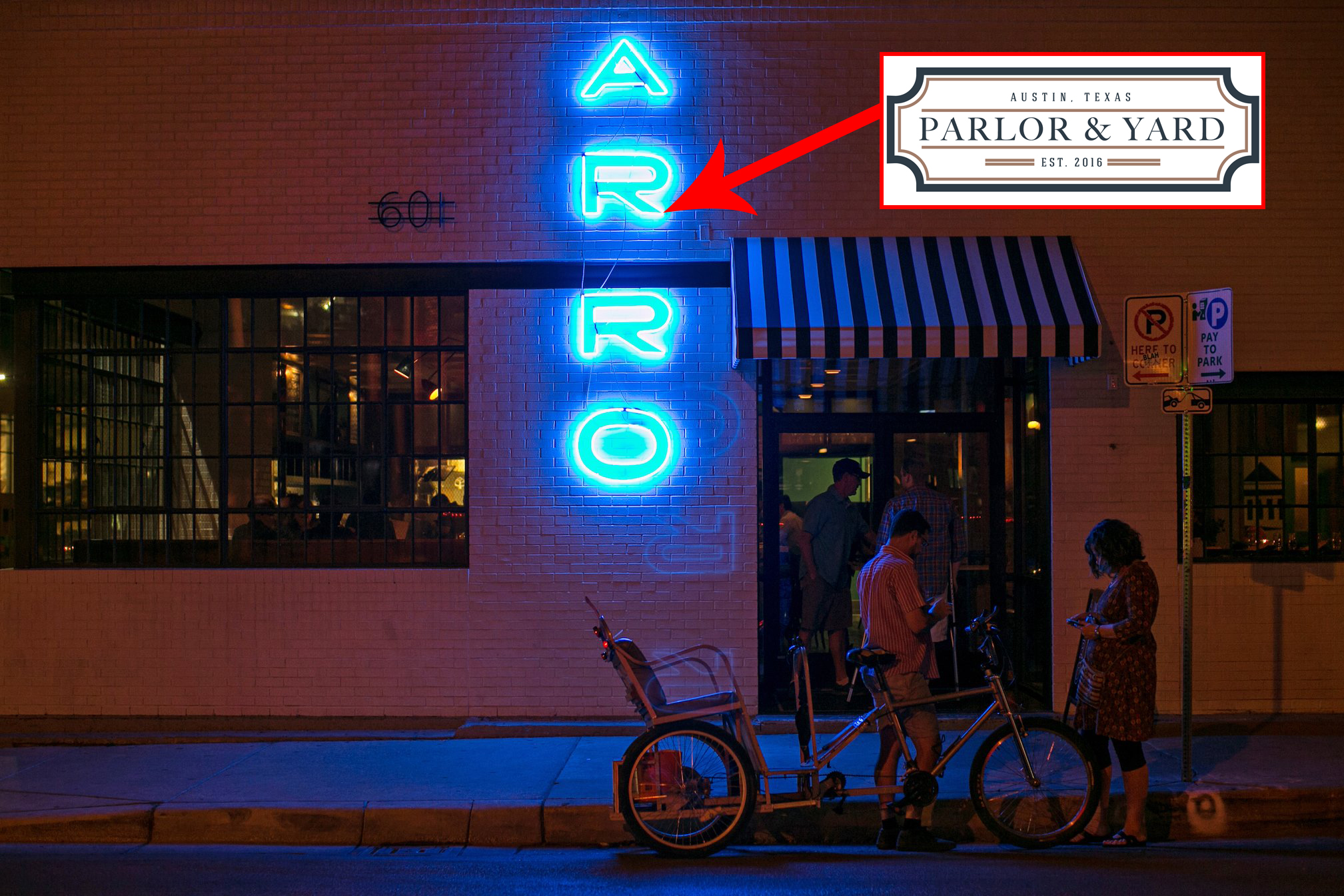 Parlor & Yard takes over Arro