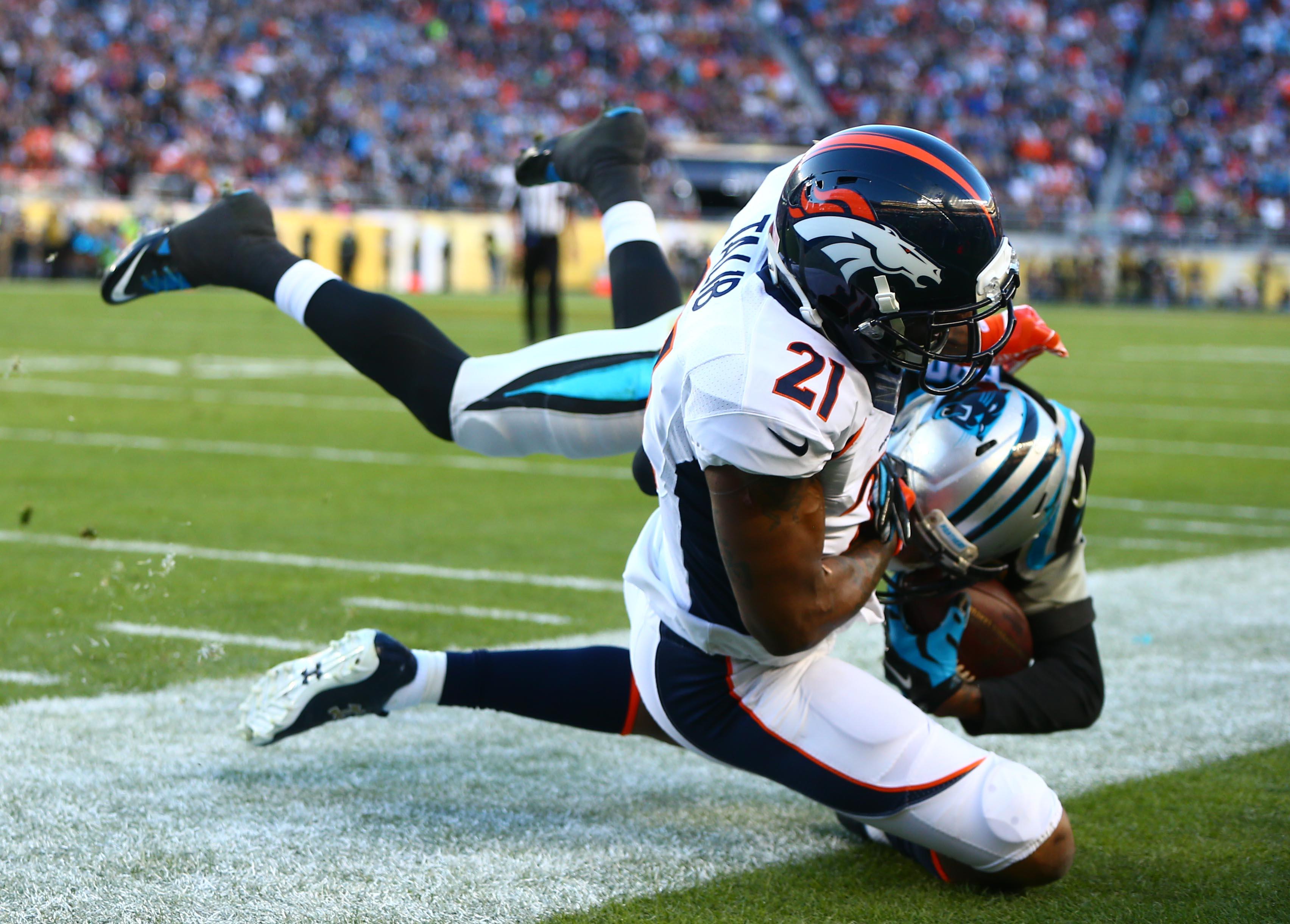 NFL fines Broncos CB Aqib Talib for personal fouls in Super Bowl
