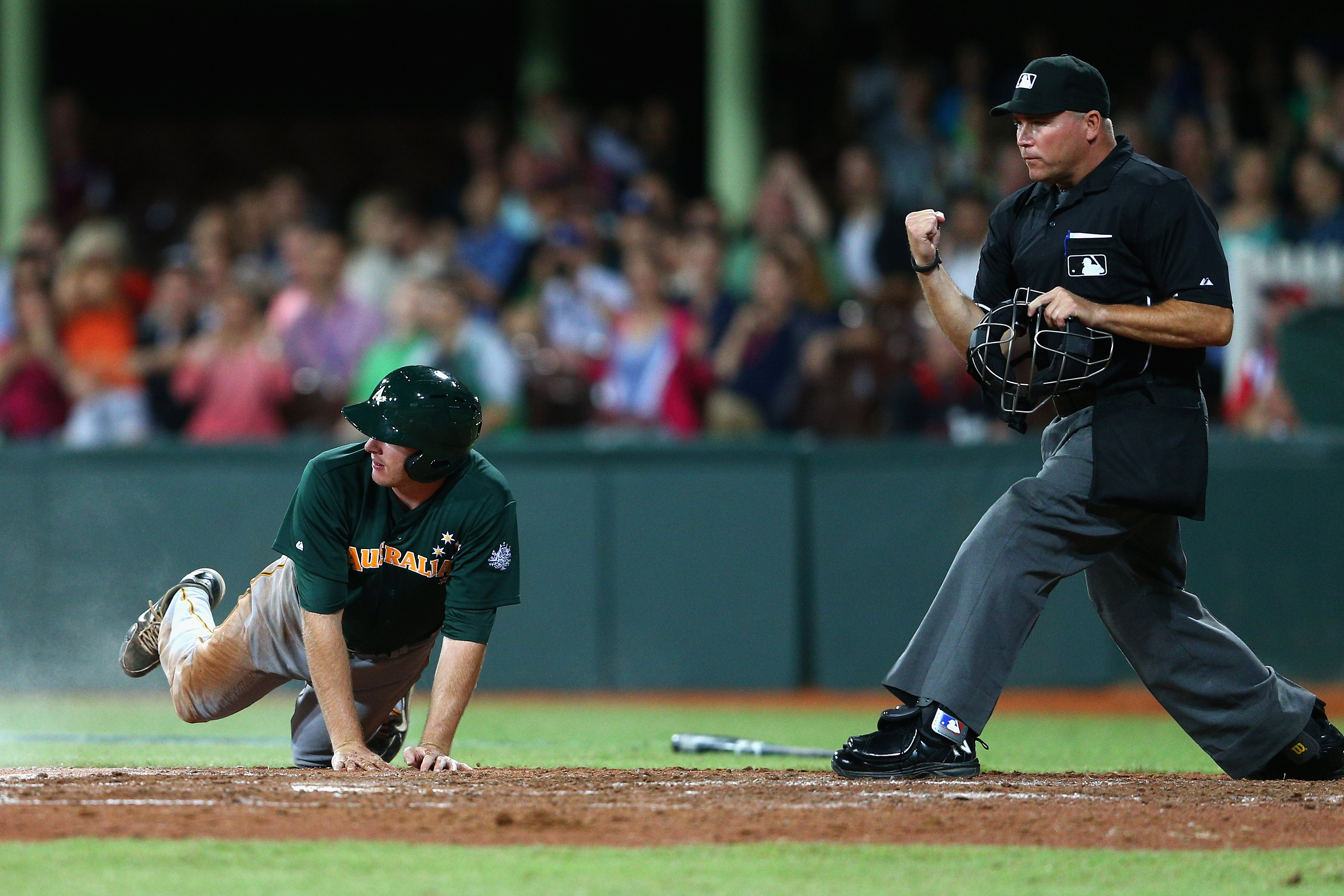The Australian national team, who played exhibition games against the Diamondbacks and Dodgers in 2014, hosts the first of four WBC qualifiers.