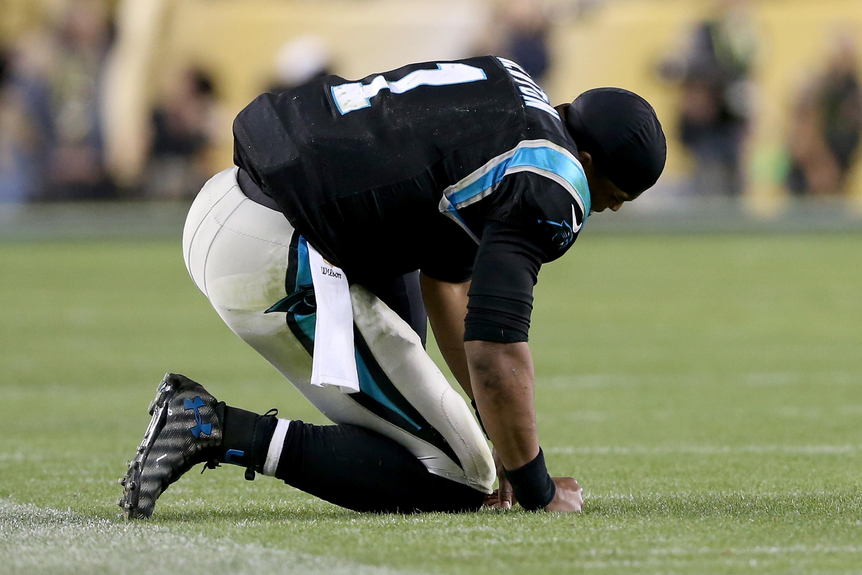 Cam Newton had a rough Super Bowl