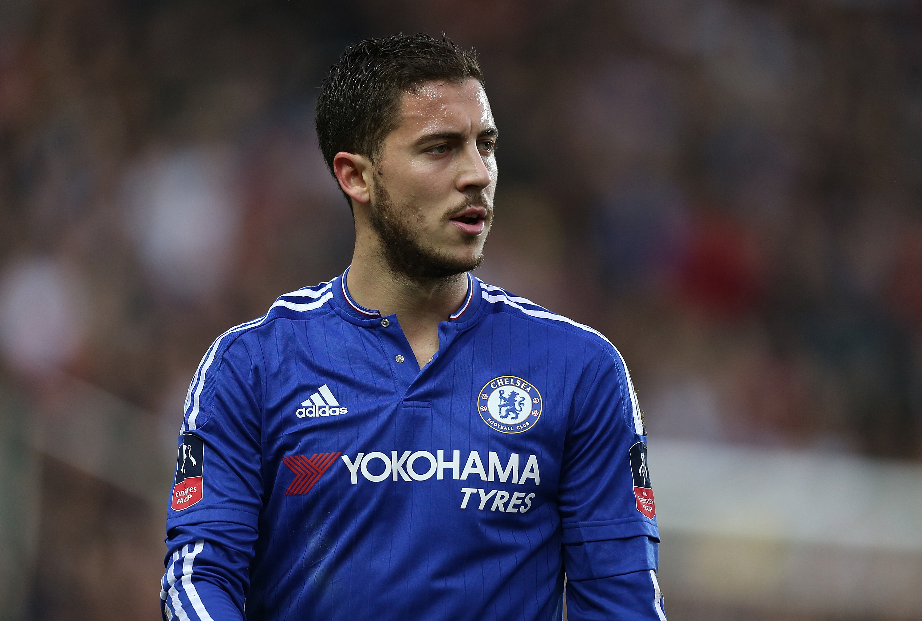 Eden Hazard will stay at Stamford Bridge if Real Madrid don't make an approach