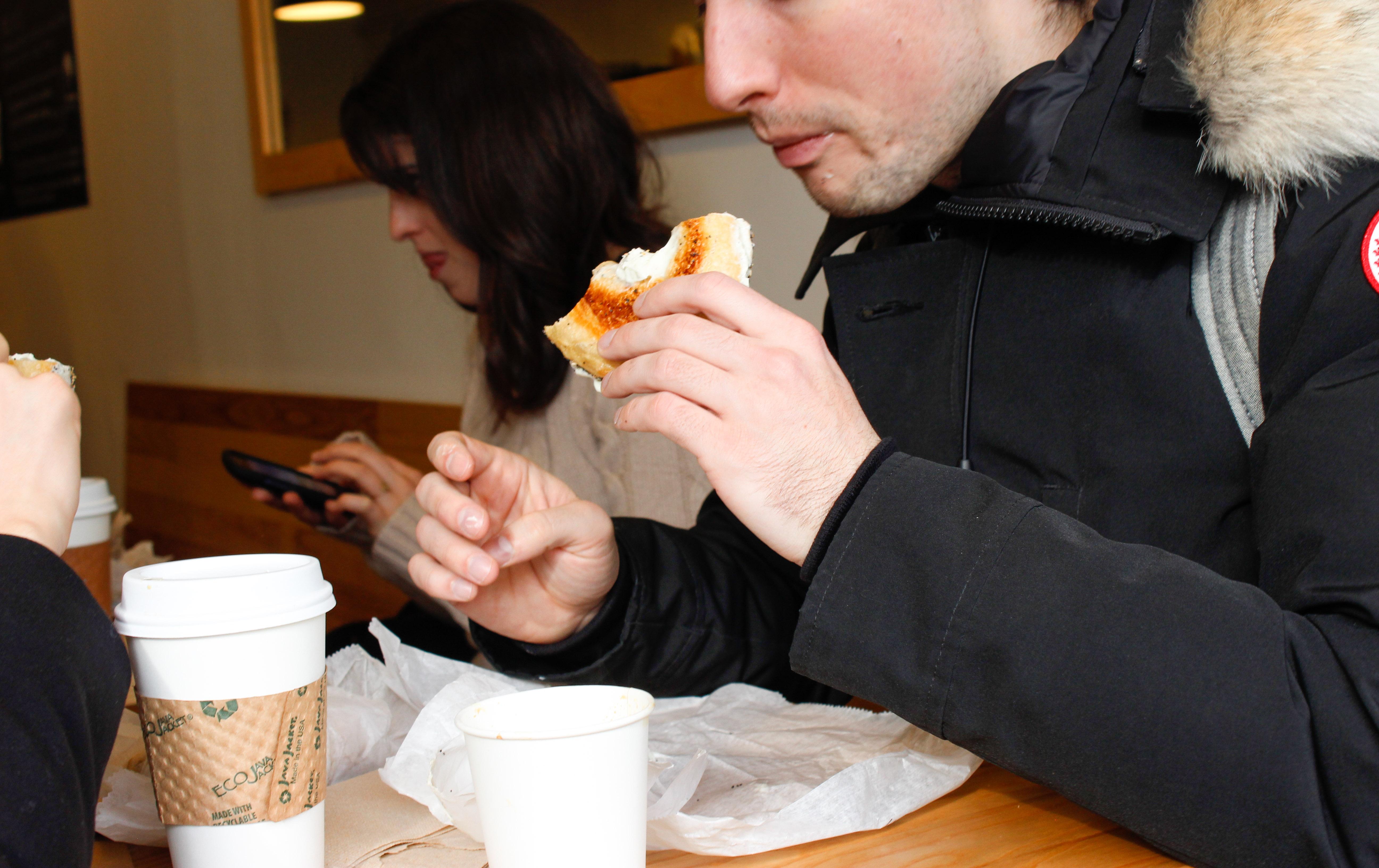 Breakfast at Bagelsaurus