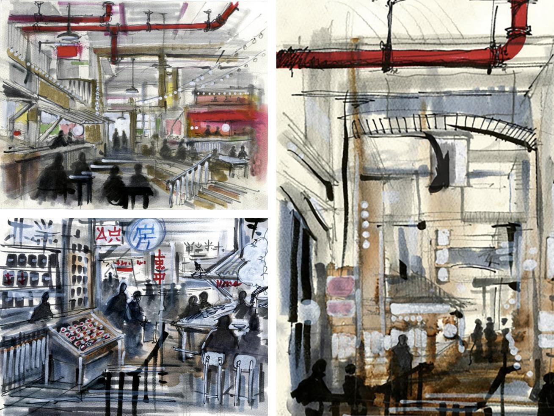 A Peek at Bourdain Market and its International Influences