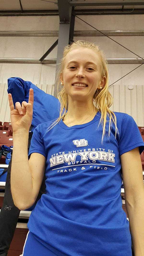 Amy Shaw broke an 11-year-old school record on Friday