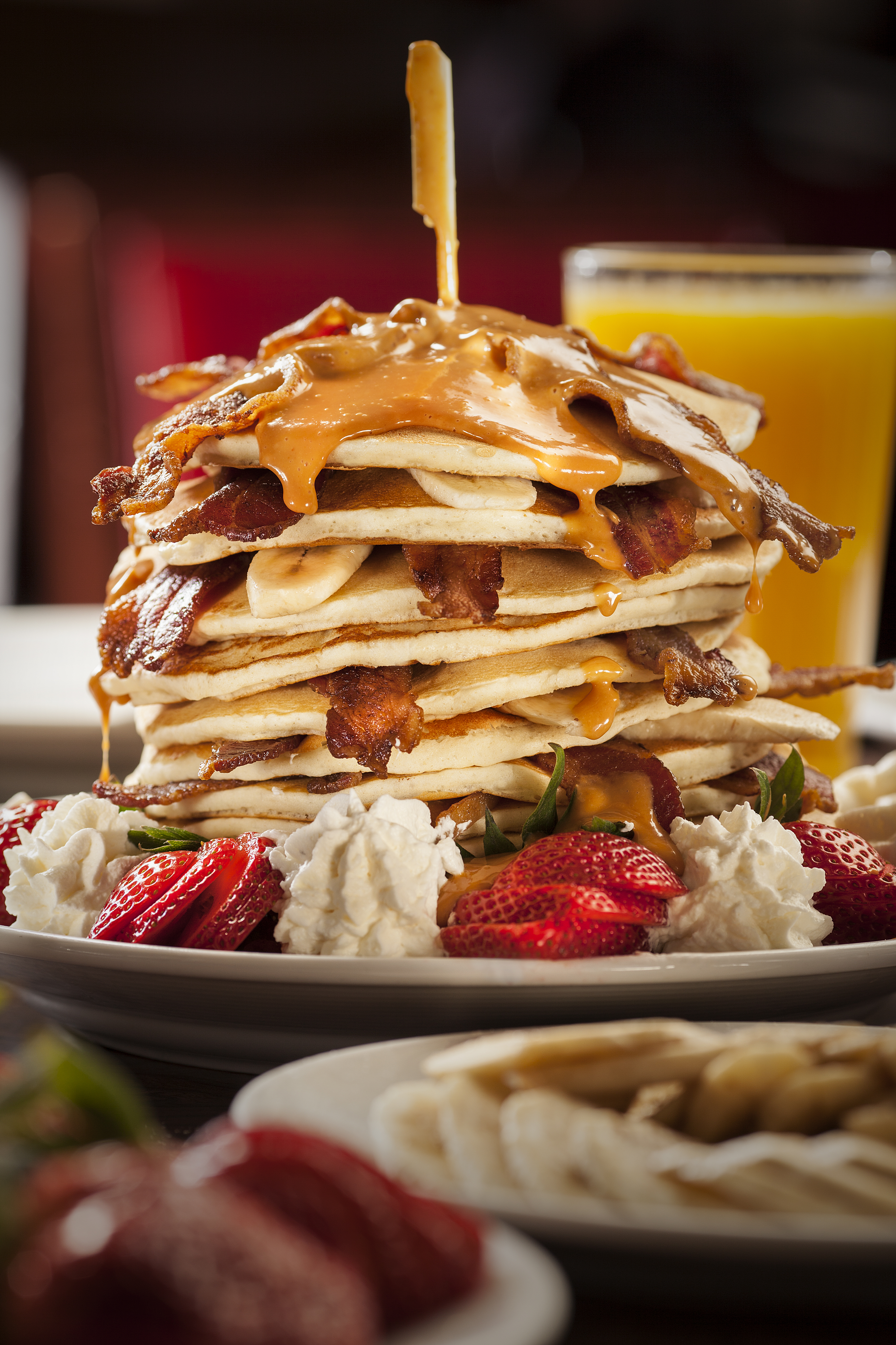 The King pancakes at Mr. Lucky