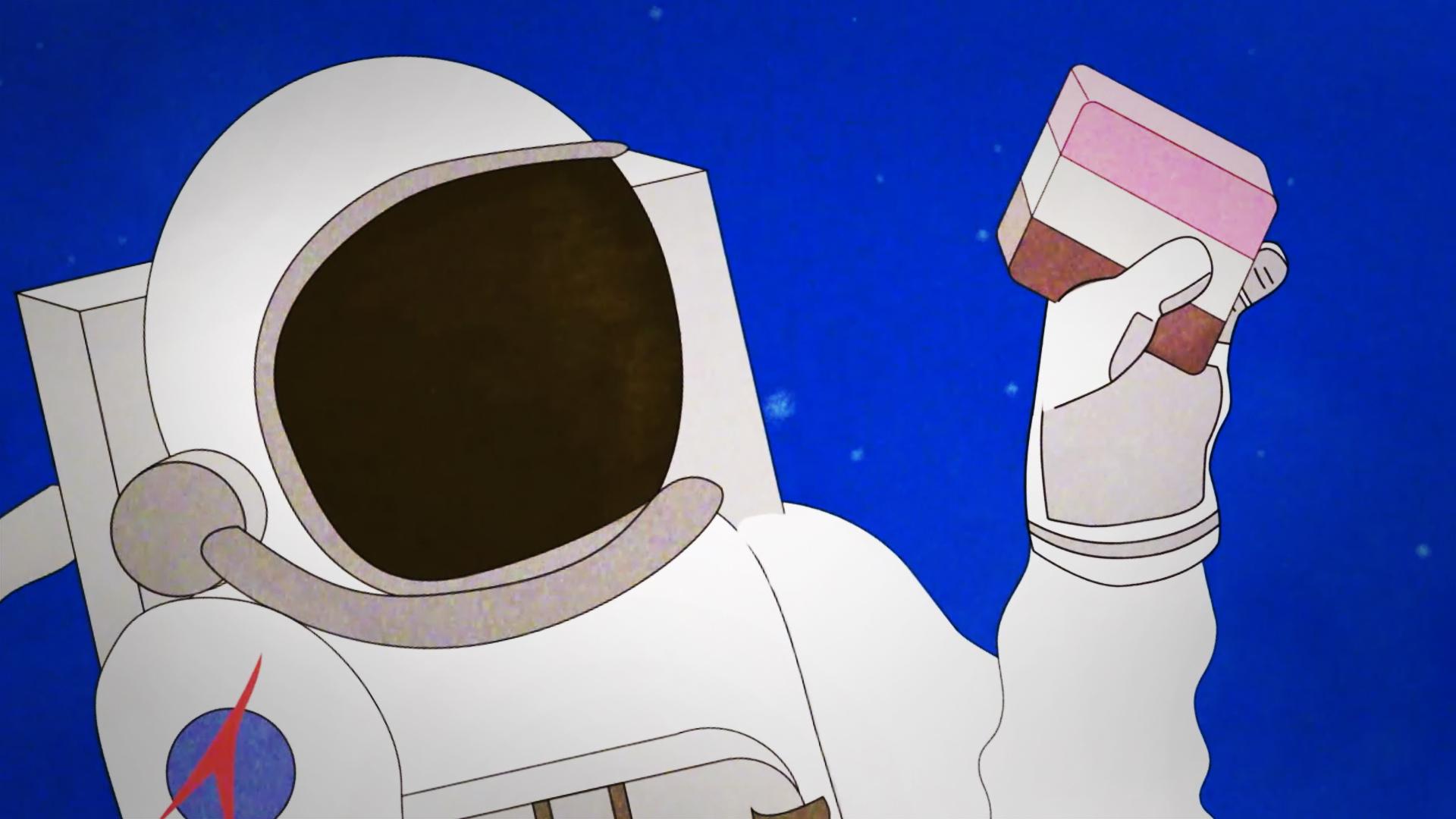 Astronaut ice cream is a lie.