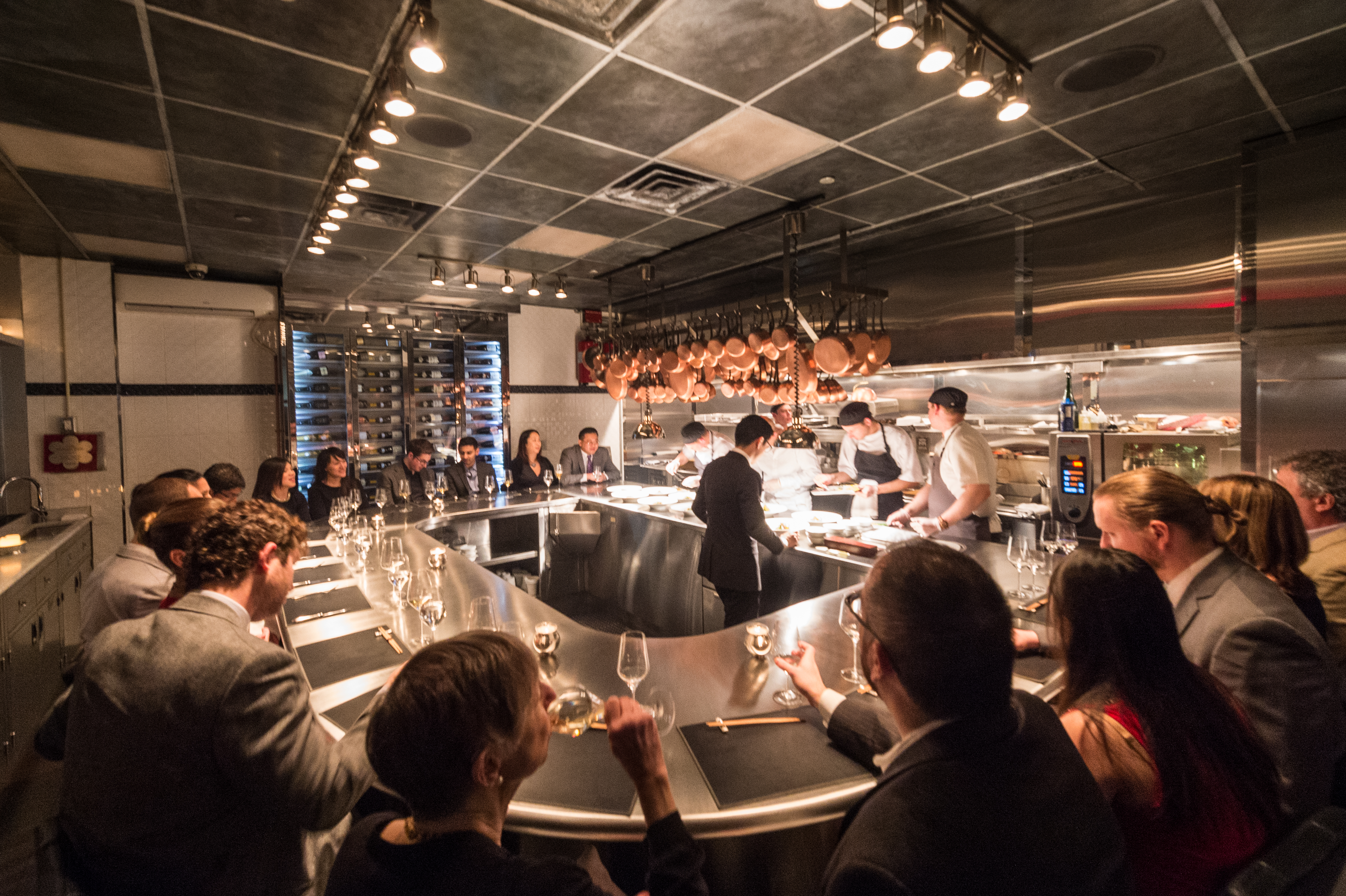 [The Chef's Table at Brooklyn Fare]