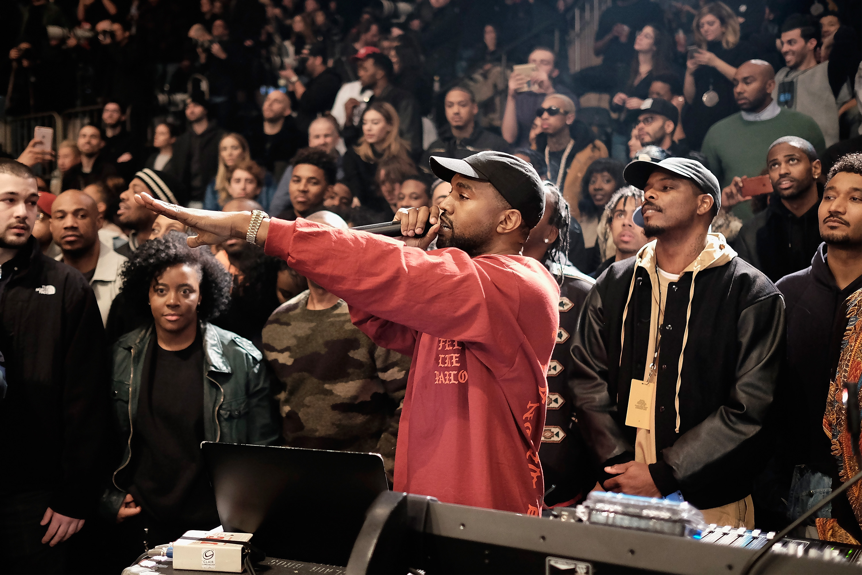 Kanye West says his new album will be a permanent Tidal