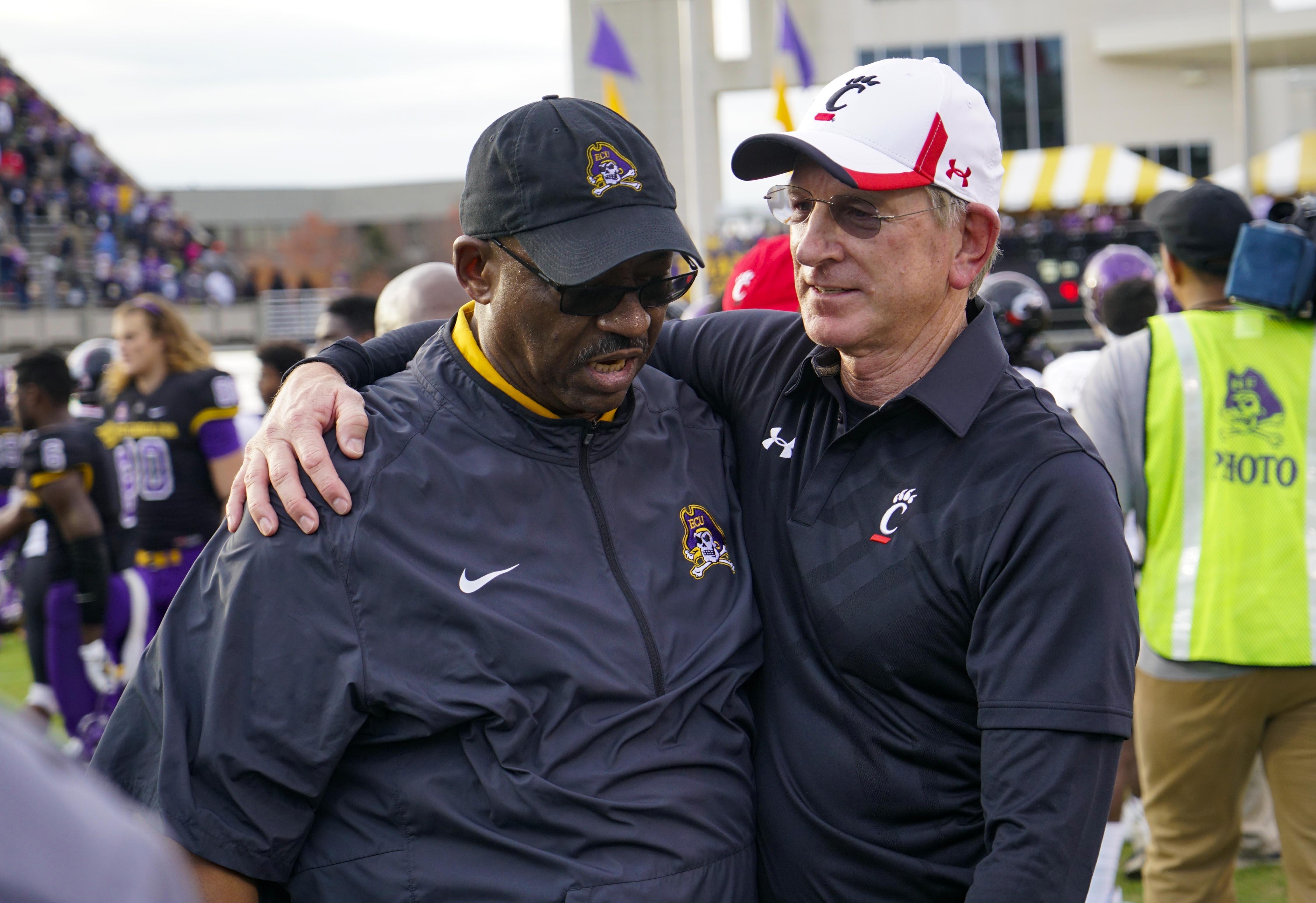 UC coach Tuberville at Eastern Carolina