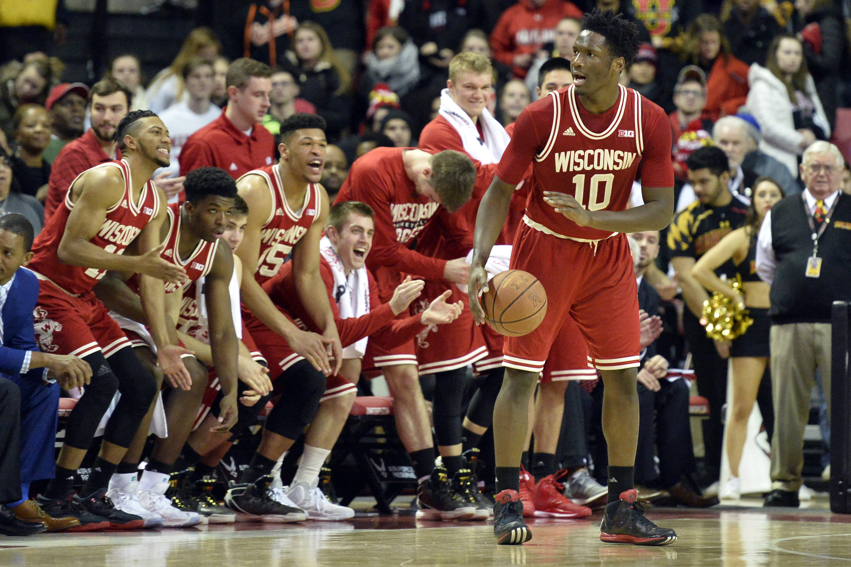Resurgent Wisconsin looks to make it two B1G scalps in a row on Thursday night.