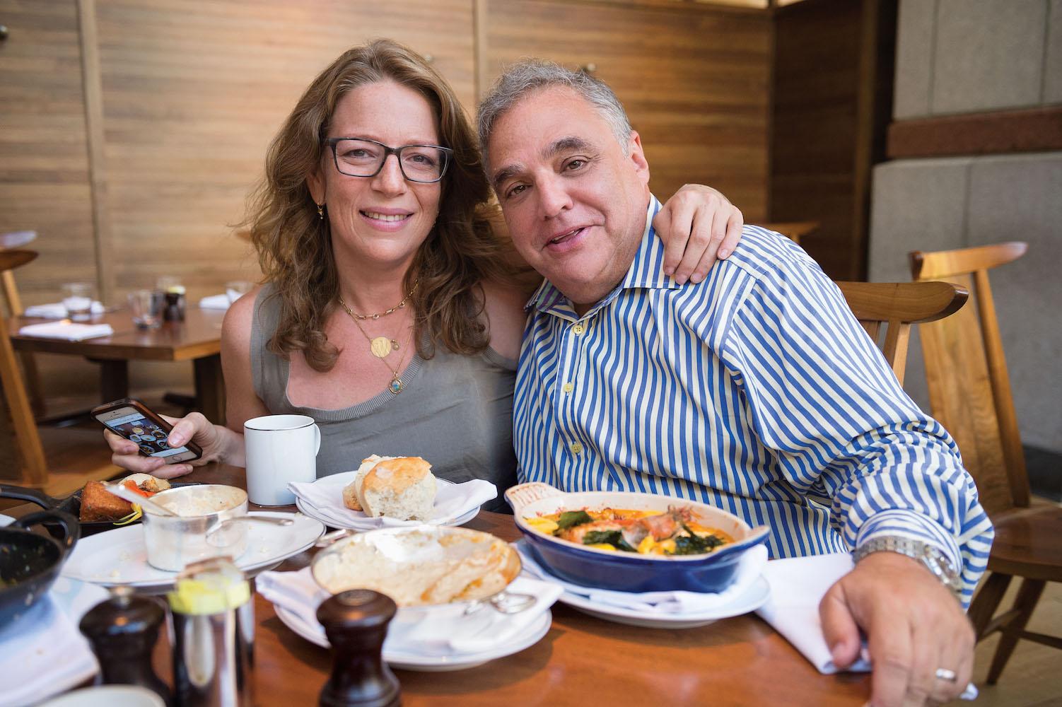 America's Breakfast Authors Adeena Sussman and Lee Schrager