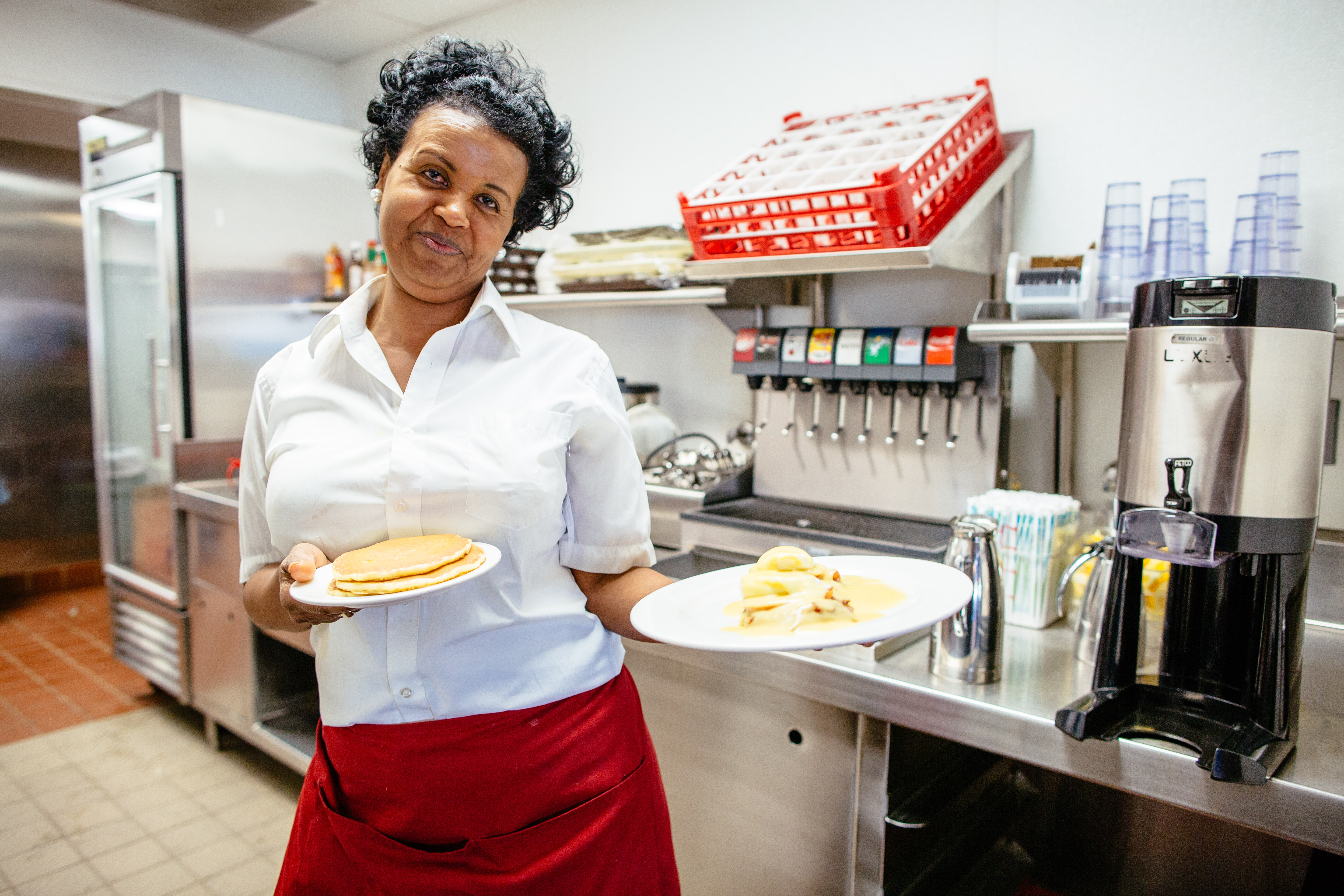 Good service and excellent pancakes are always coming right up at OPH.