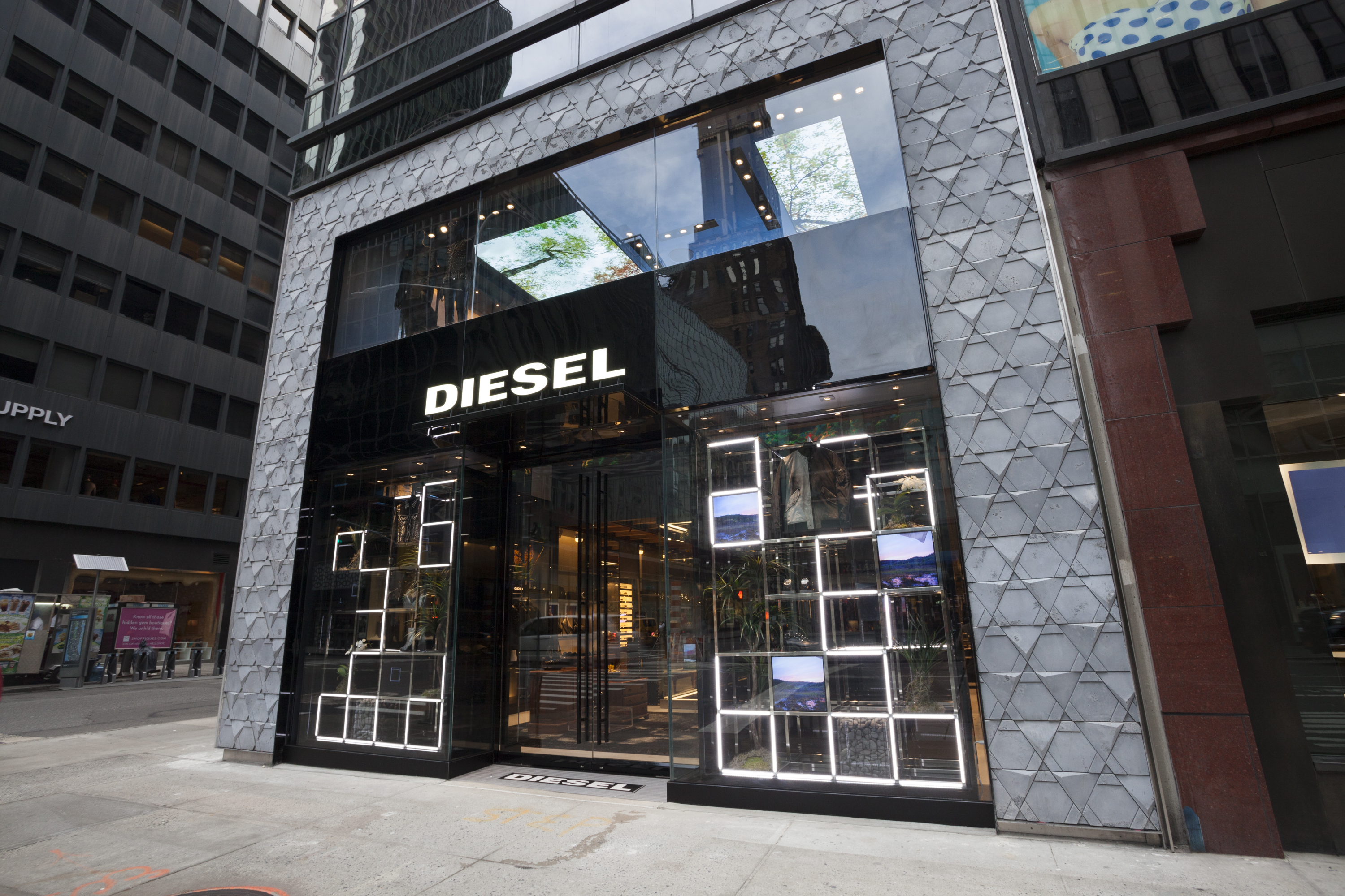 Diesel's New Madison Avenue Store Catches Up to the Brand's Current Look