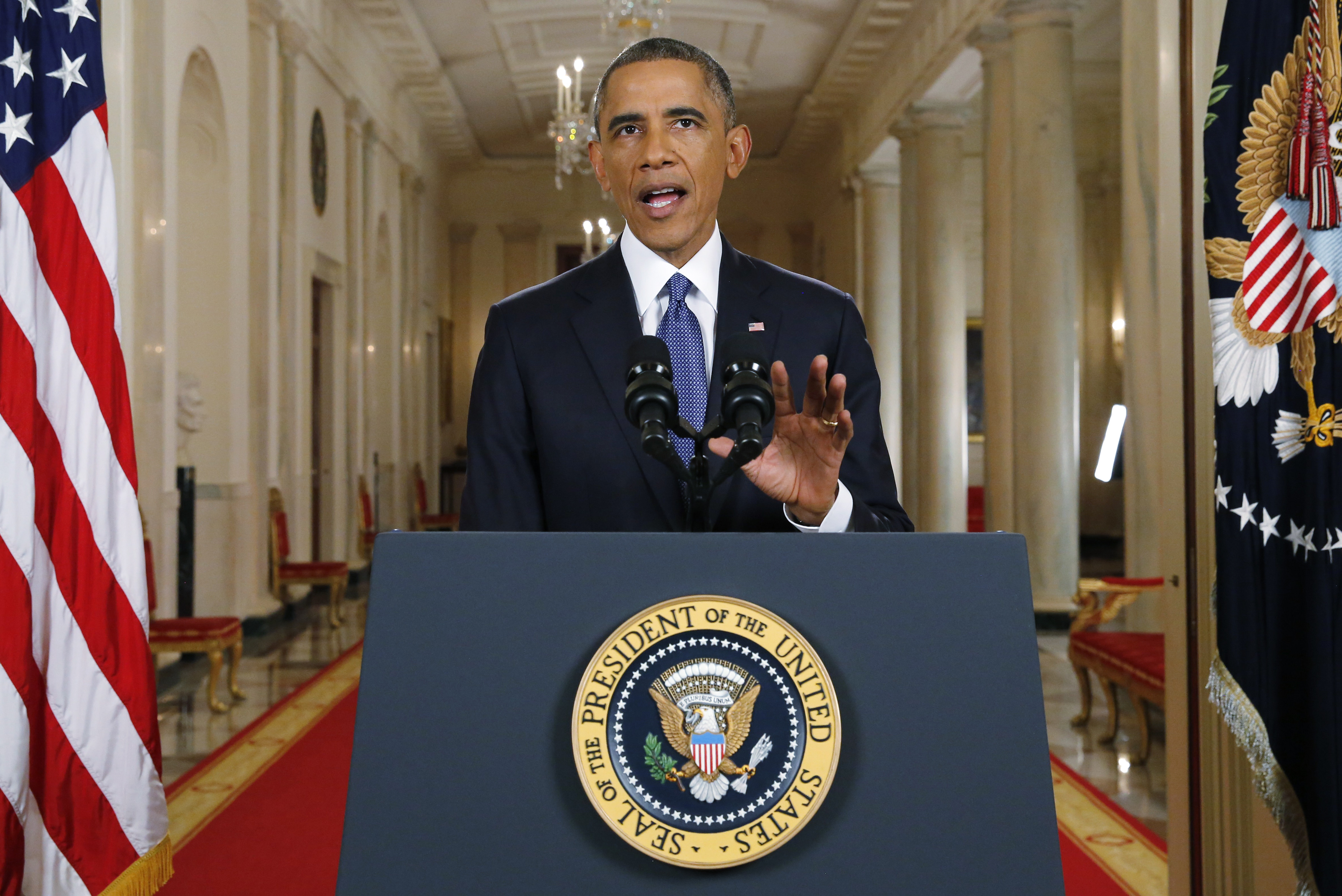 President Obama announces executive actions on US immigration policy during a nationally televised address from the White House.