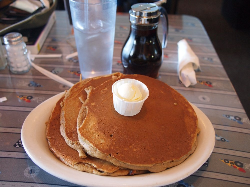 Pancakes from Magnolia Cafe