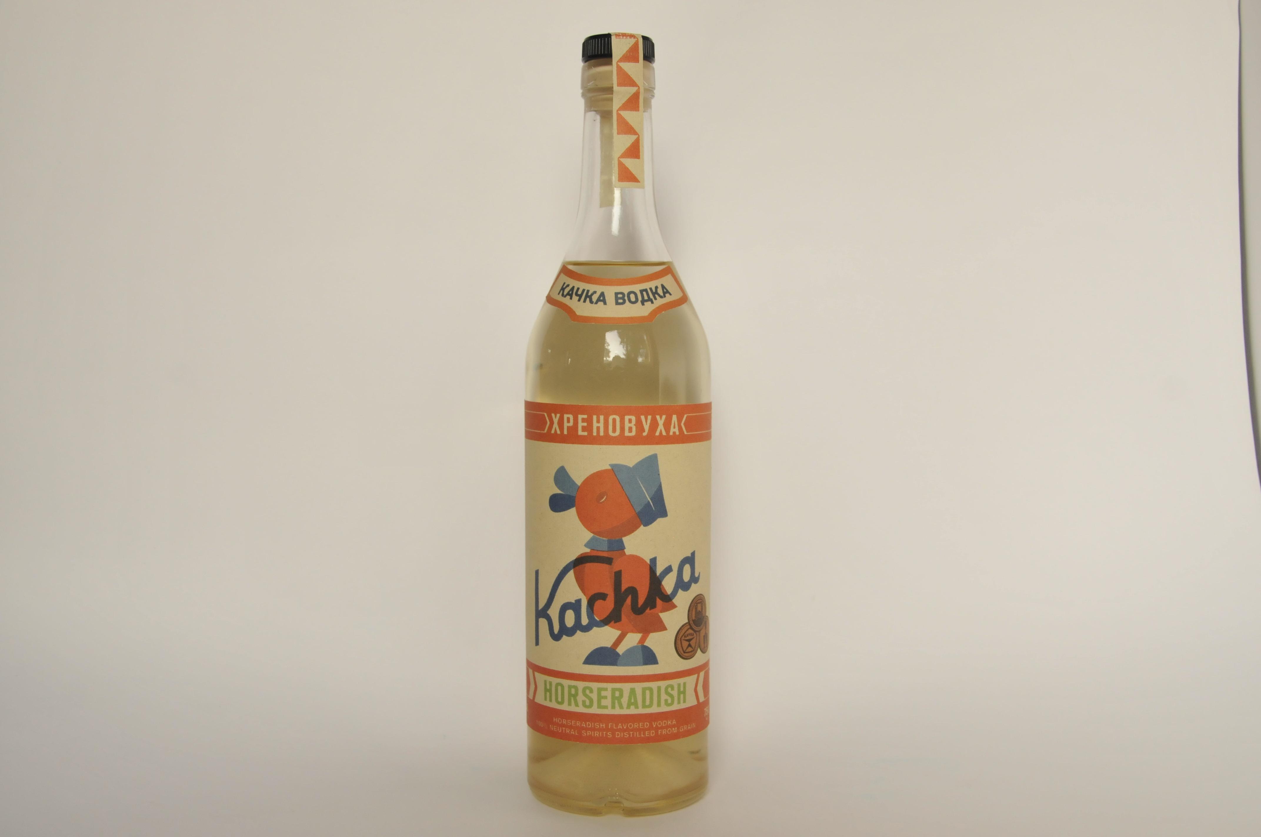 Kachka's Horseradish Vodka