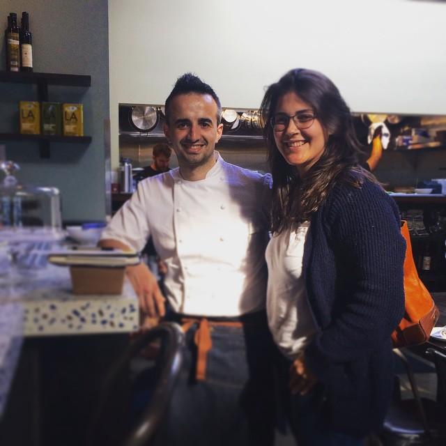 Chef José Chesa and wife and business partner Cristina Baéz