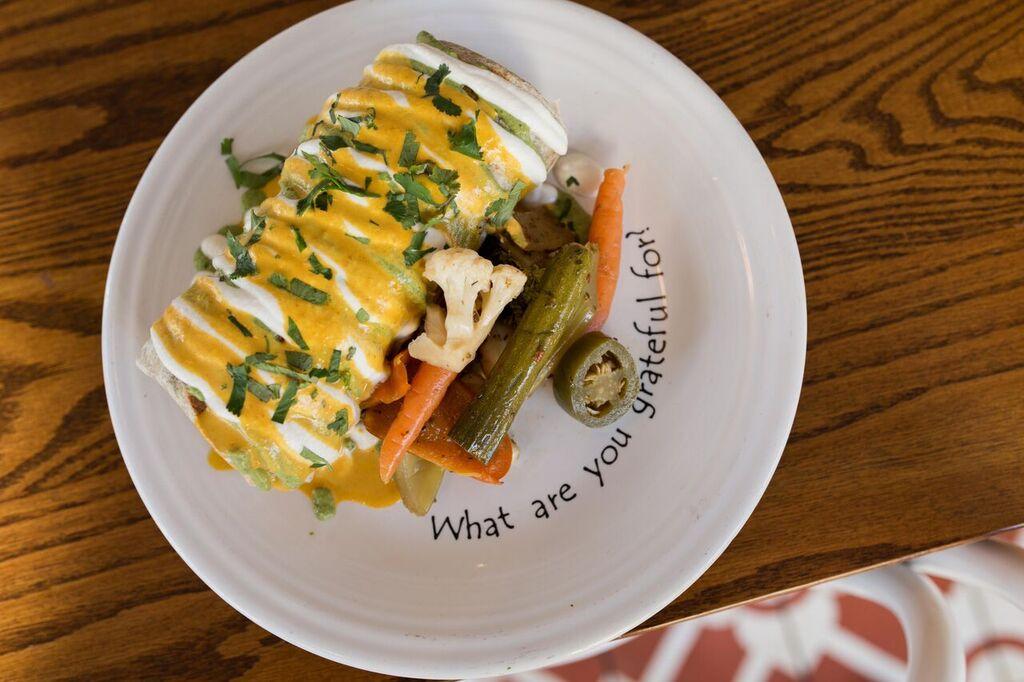 Yo Soy Supremo Breakfast Burrito