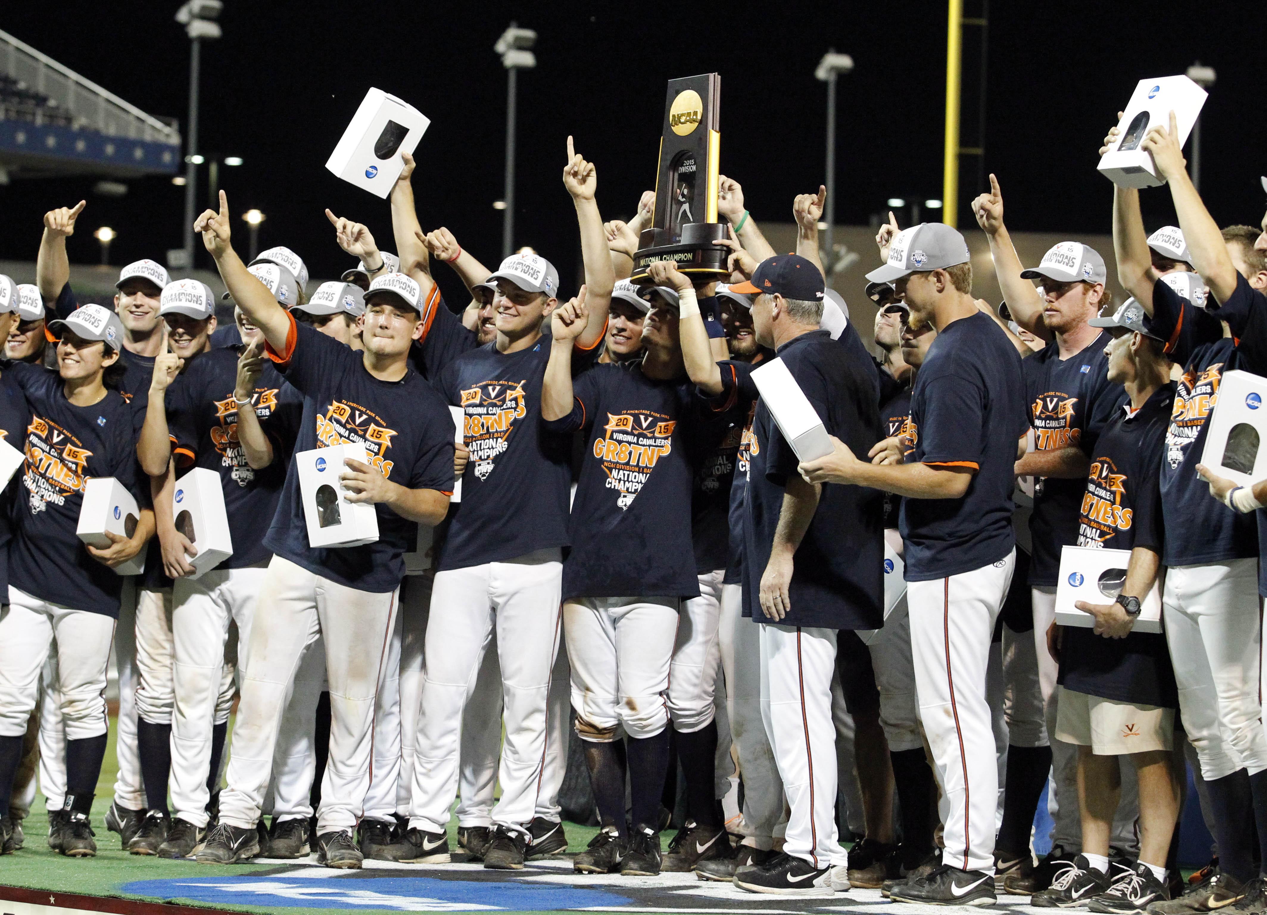 Virginia avenged last year's finals loss, beating Vanderbilt to win the 2015 College World Series.
