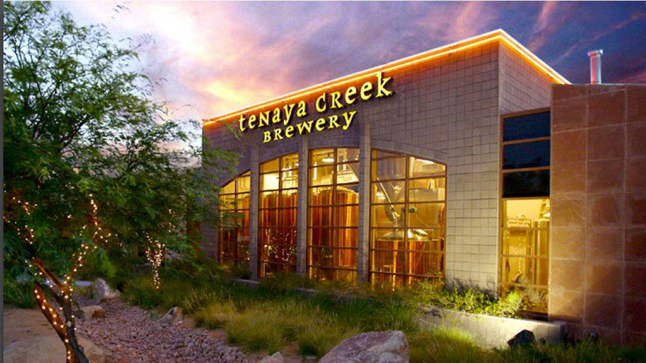 The former Tenaya Creek Brewery converted into a PT's Brewing Co.