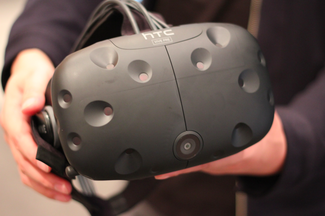 The HTC Vive VR headset will cost $799