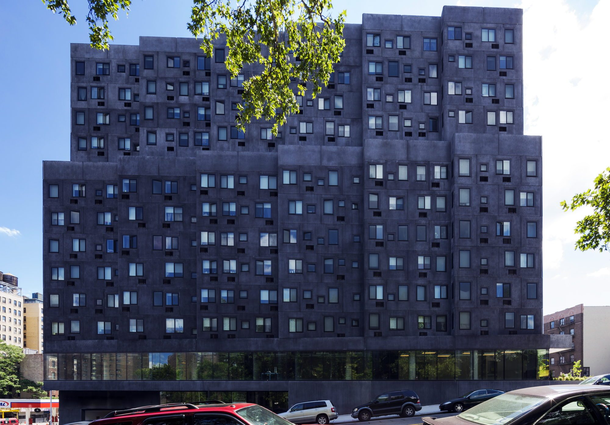 David Adjaye's Sugar Hill Housing Development in New York City's Harlem neighborhood.