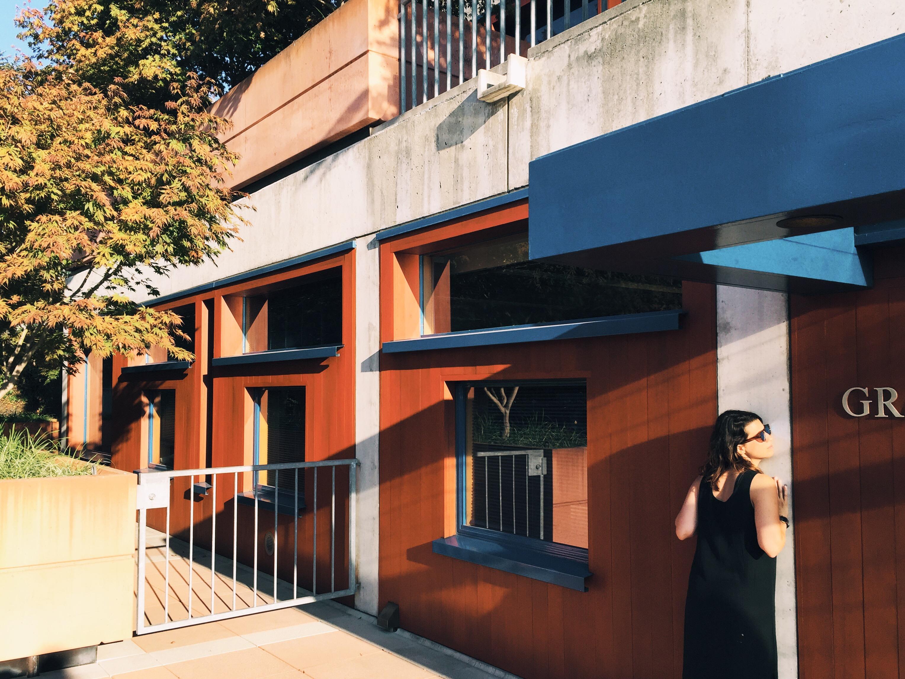 Flora Lamson Hewlett Library at UC Berkeley, designed by Louis Kahn