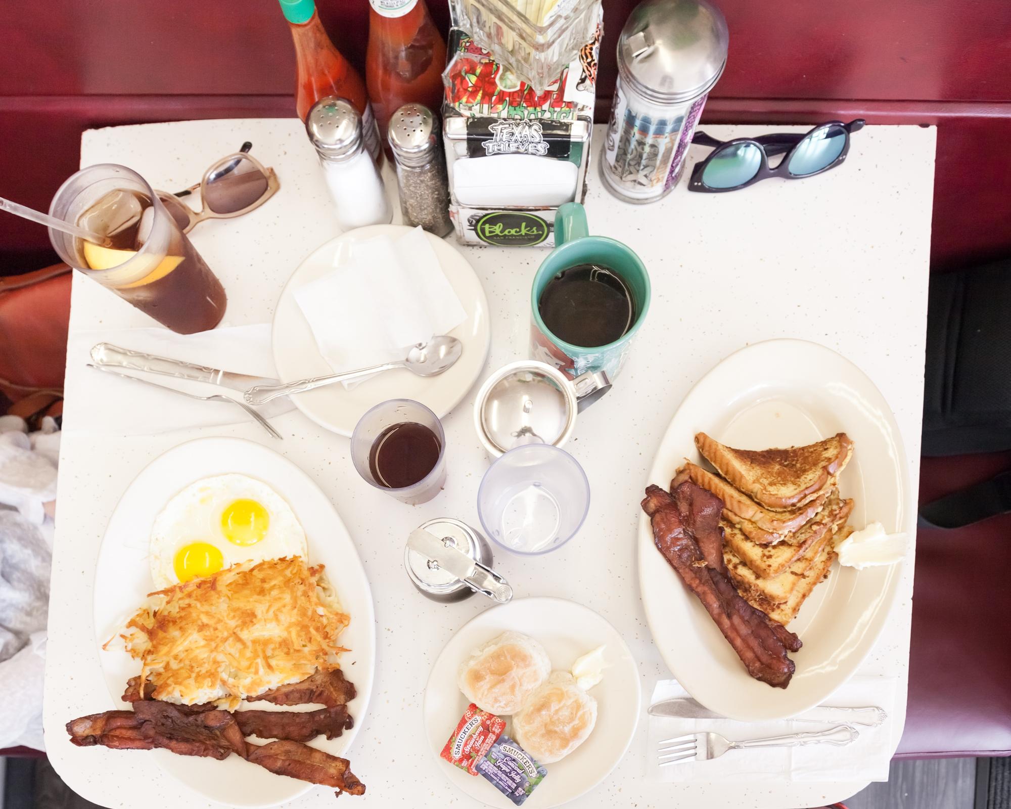 Breakfast at Eddie's Cafe