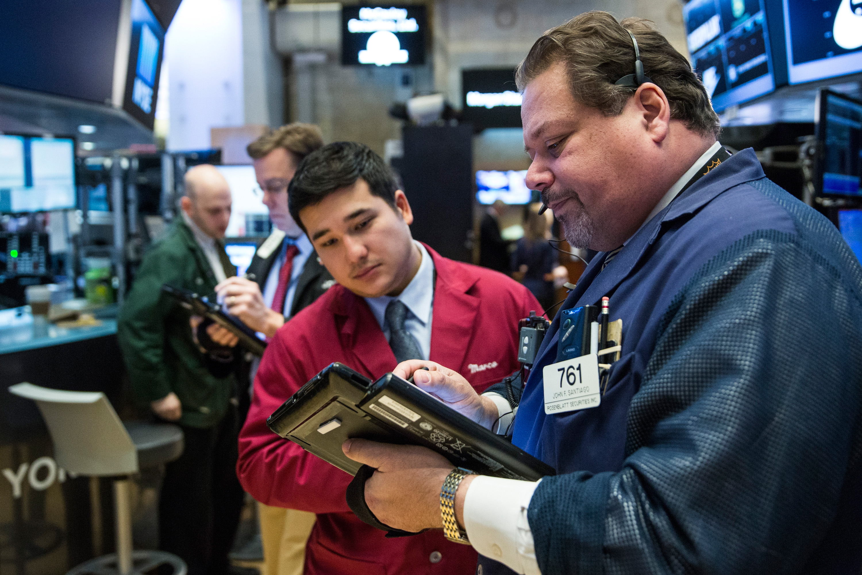 Let these guys worry about whether the stock market is about to crash.