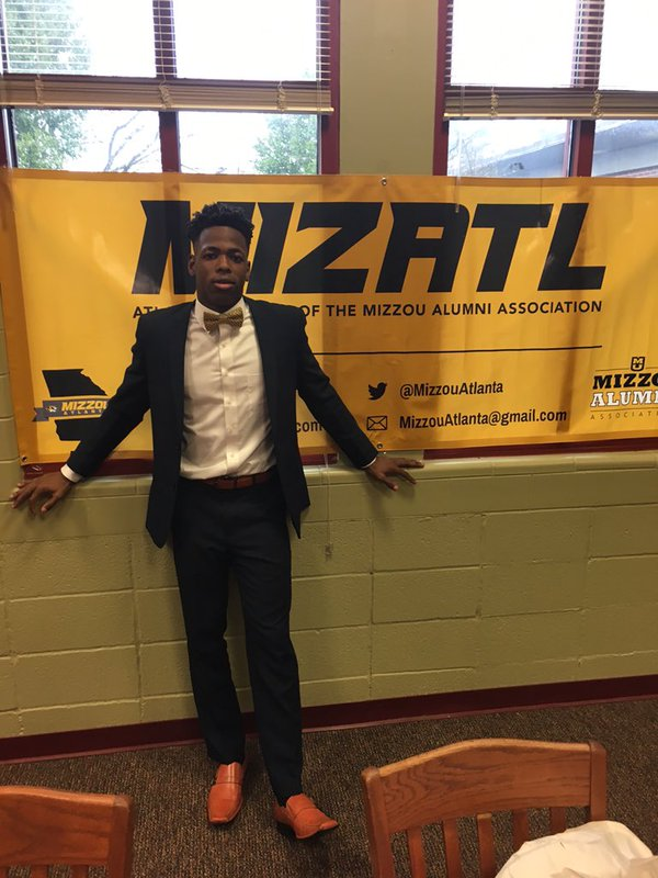 Christian Holmes signing with Mizzou on National Signing Day