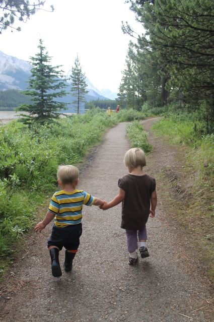 Looking for birds in Jasper