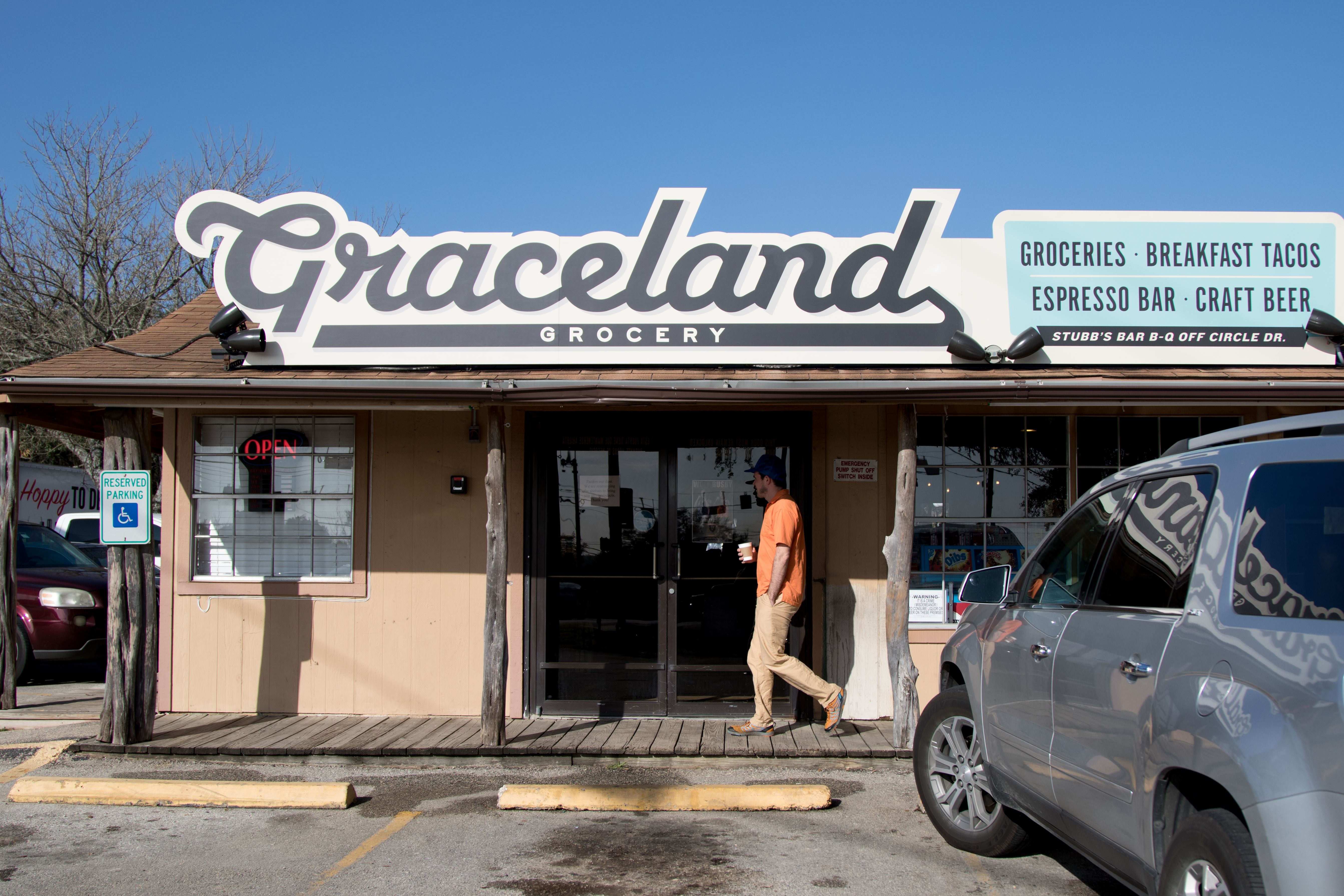 Graceland Grocery Is Now Open Slinging Stubb's Bar-B-Q
