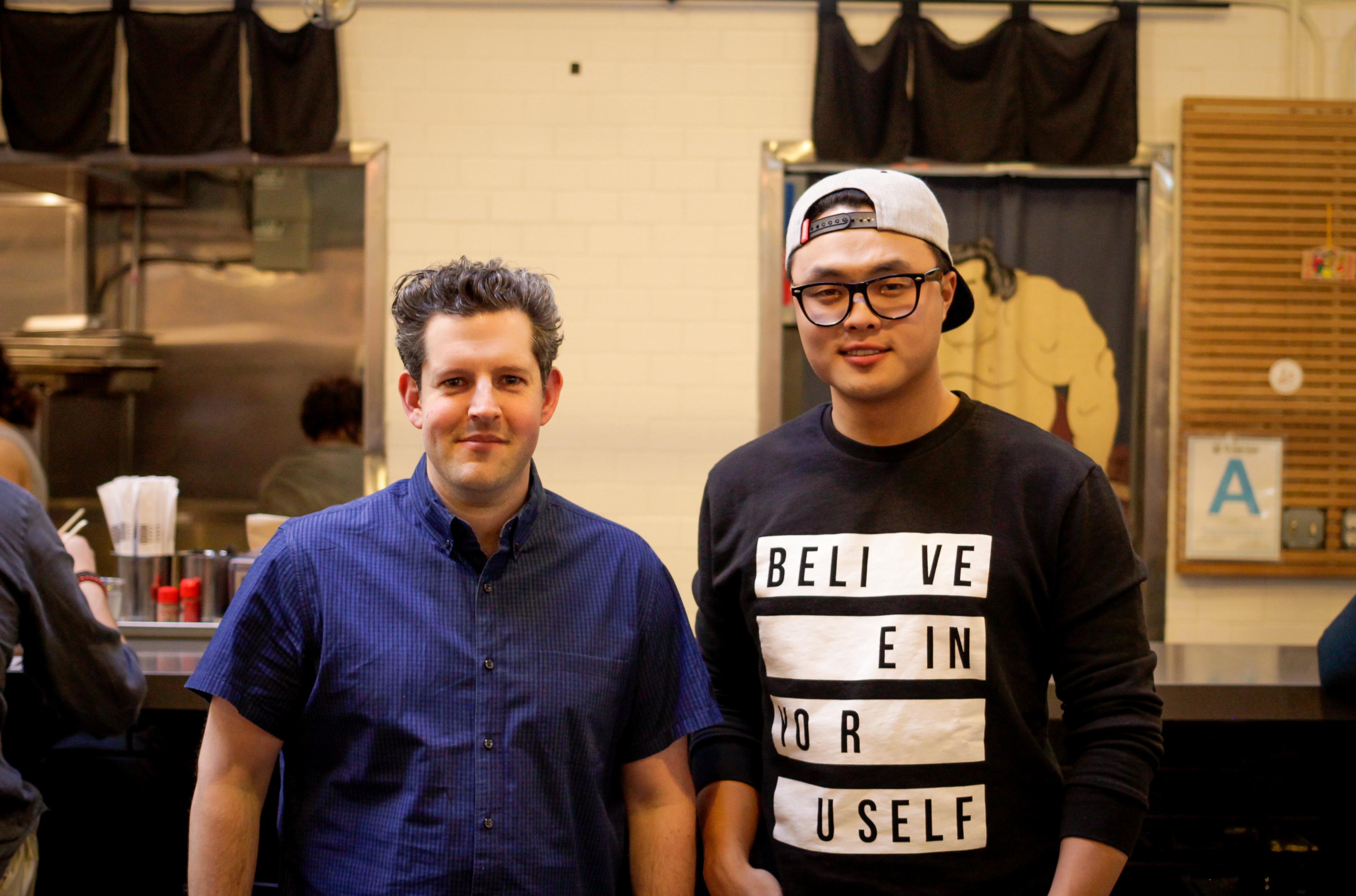 Matt Rodbard and Deuki Hong